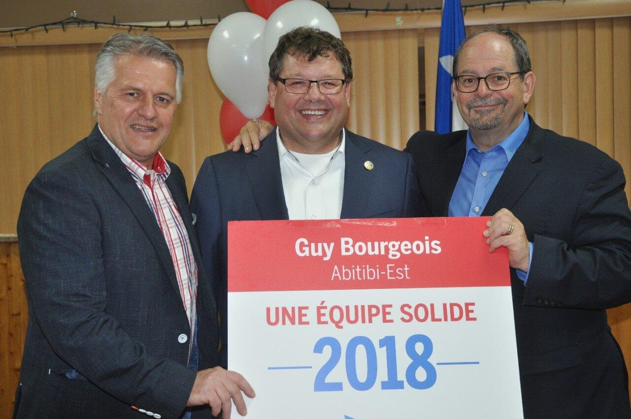 Guy Bourgeois déterminé à défendre son siège