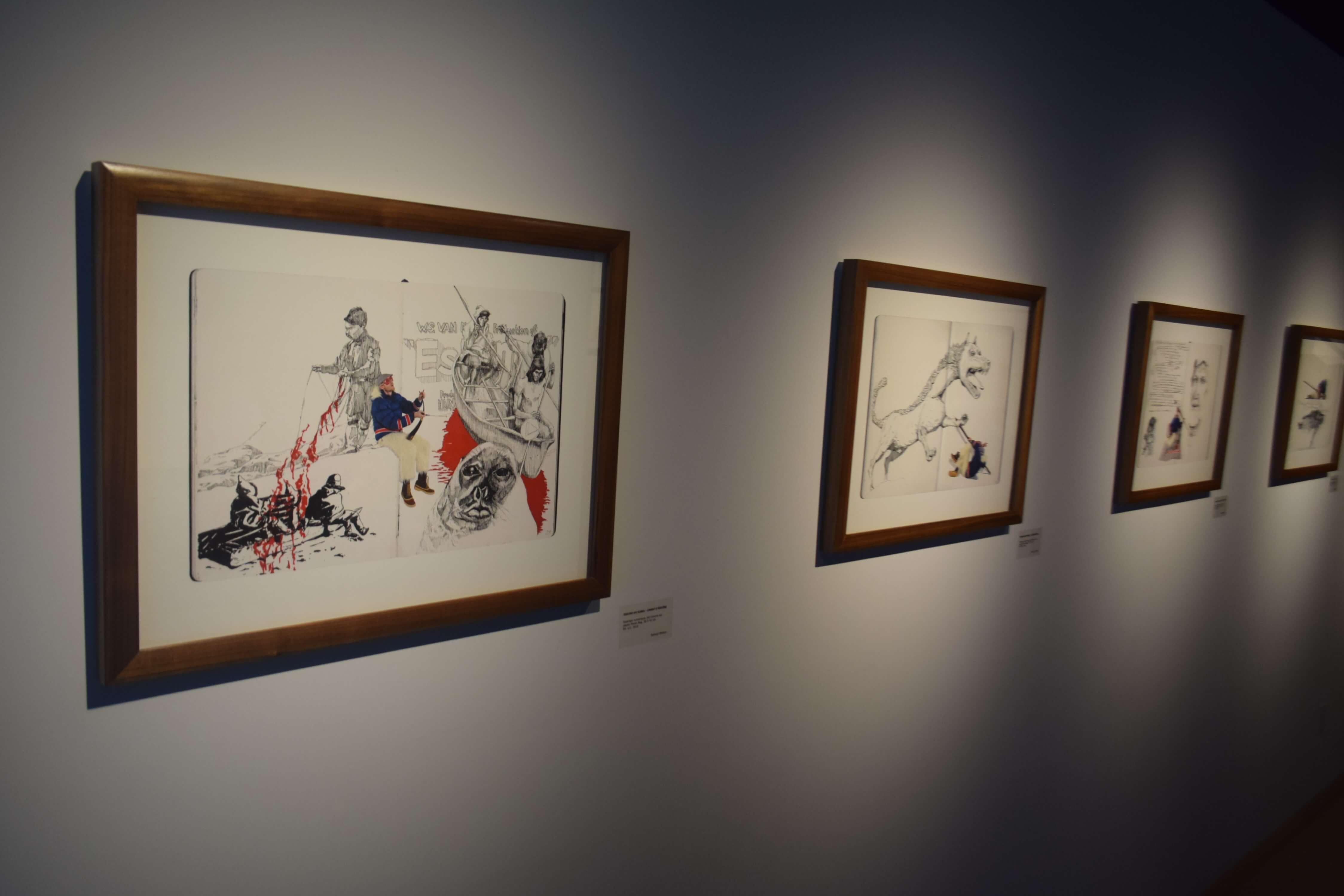 Samuel Breton Eskimo Sorel dessins