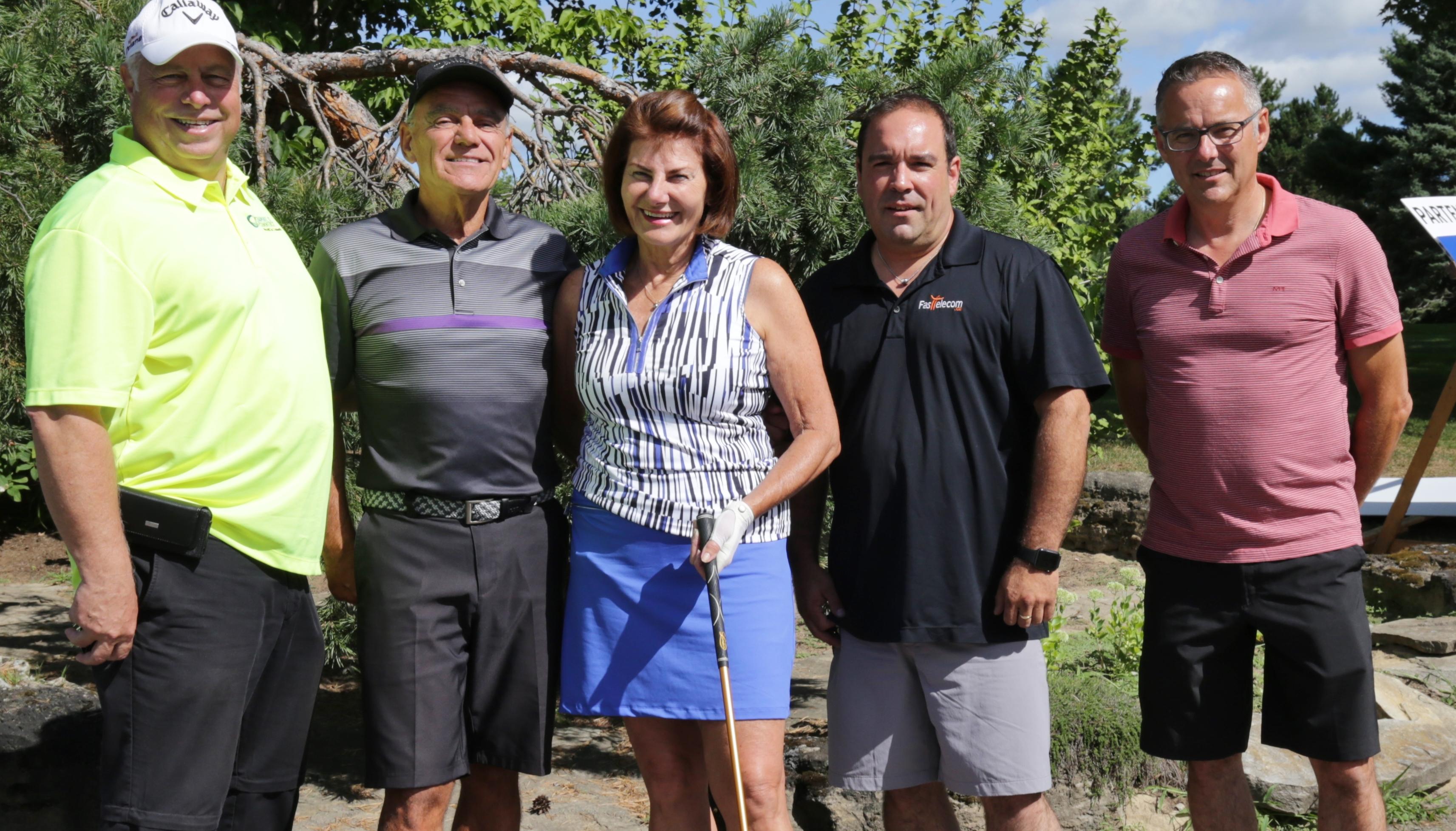Journée de golf parfaite pour la Chambre de commerce