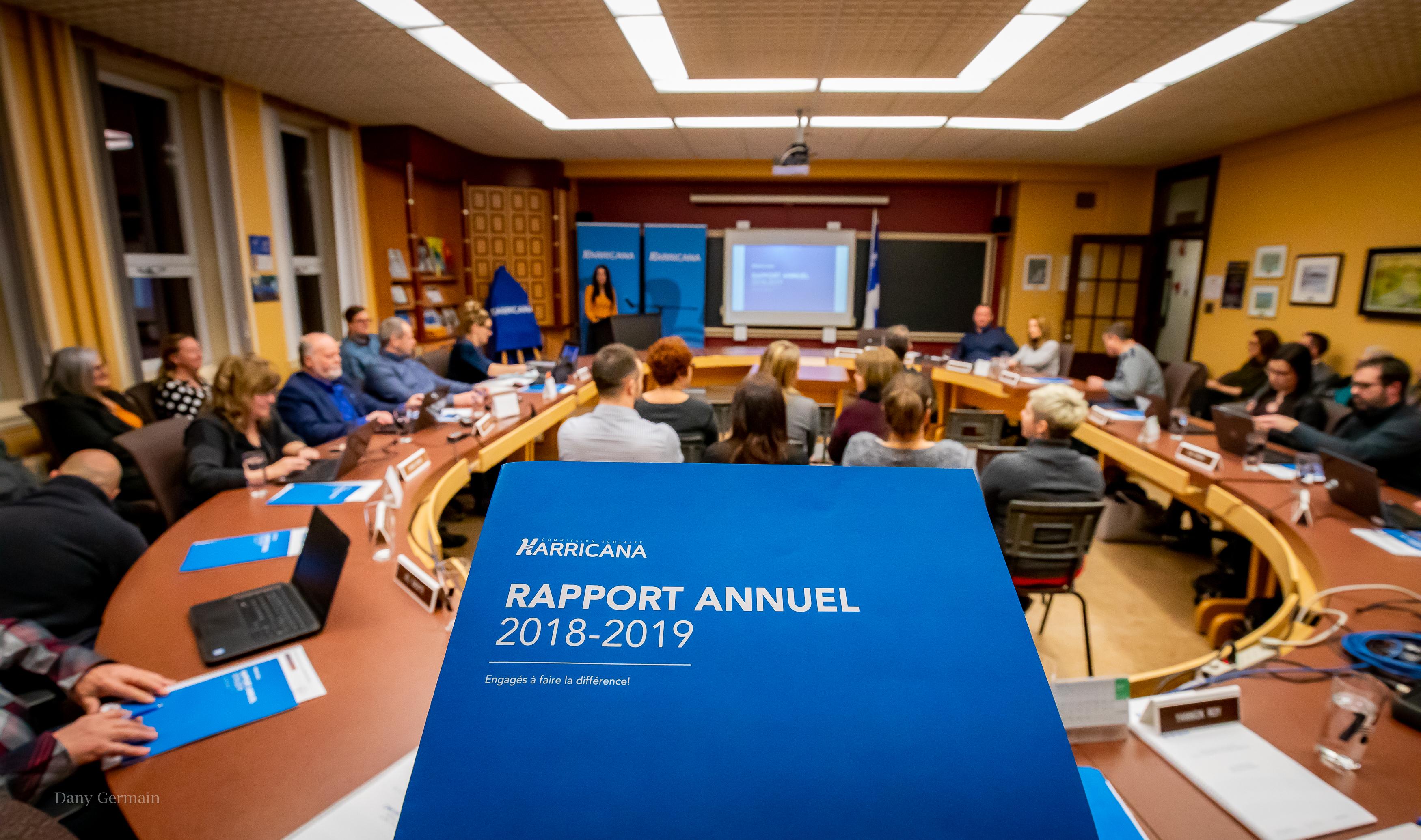 CSH rapport annuel Harricana