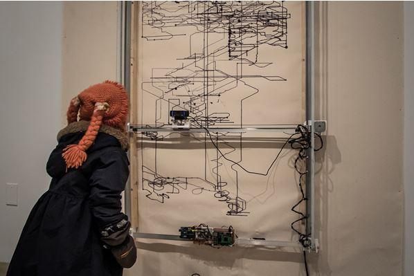 Vernissage et présentation de l'exposition Léviathan de Paolo Almario
