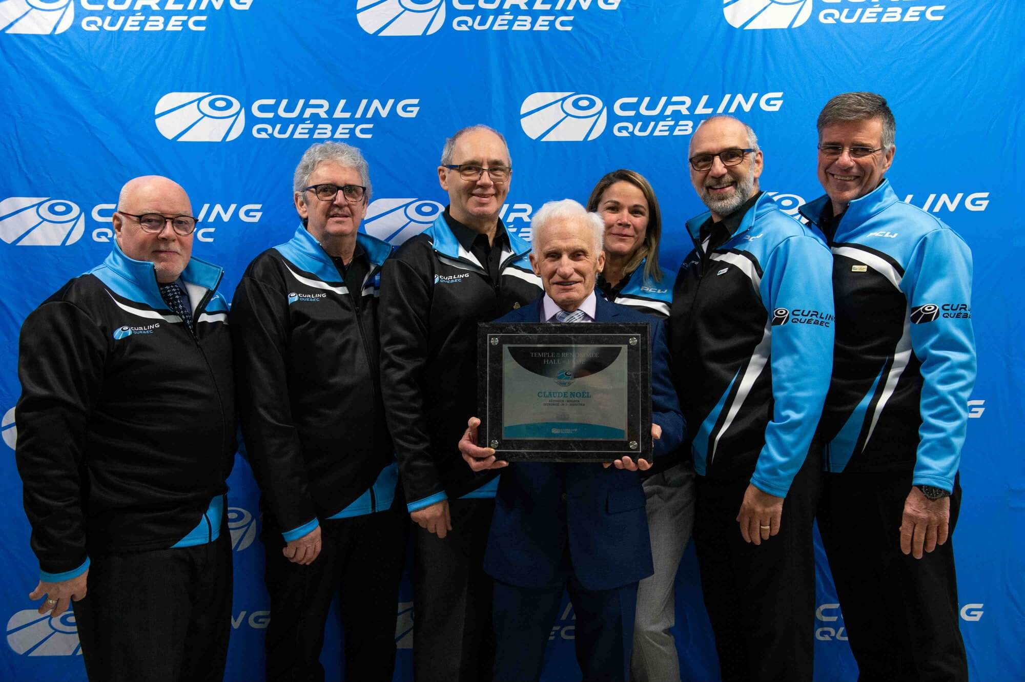 Claude Noel Curling Québec