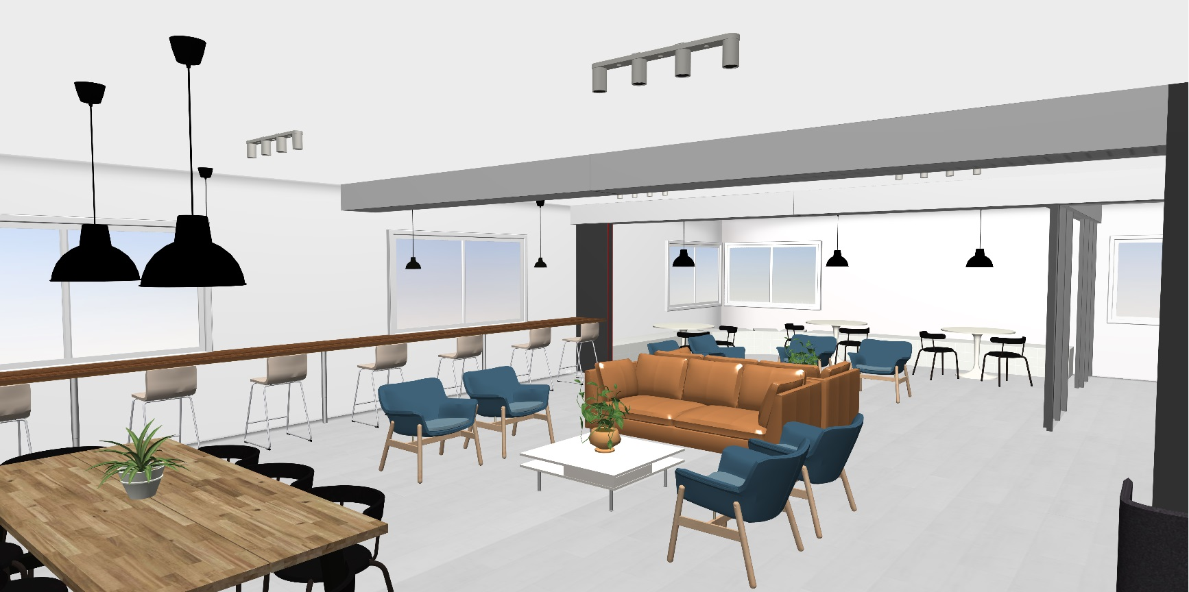 Centrale Coworking Amos lounge
