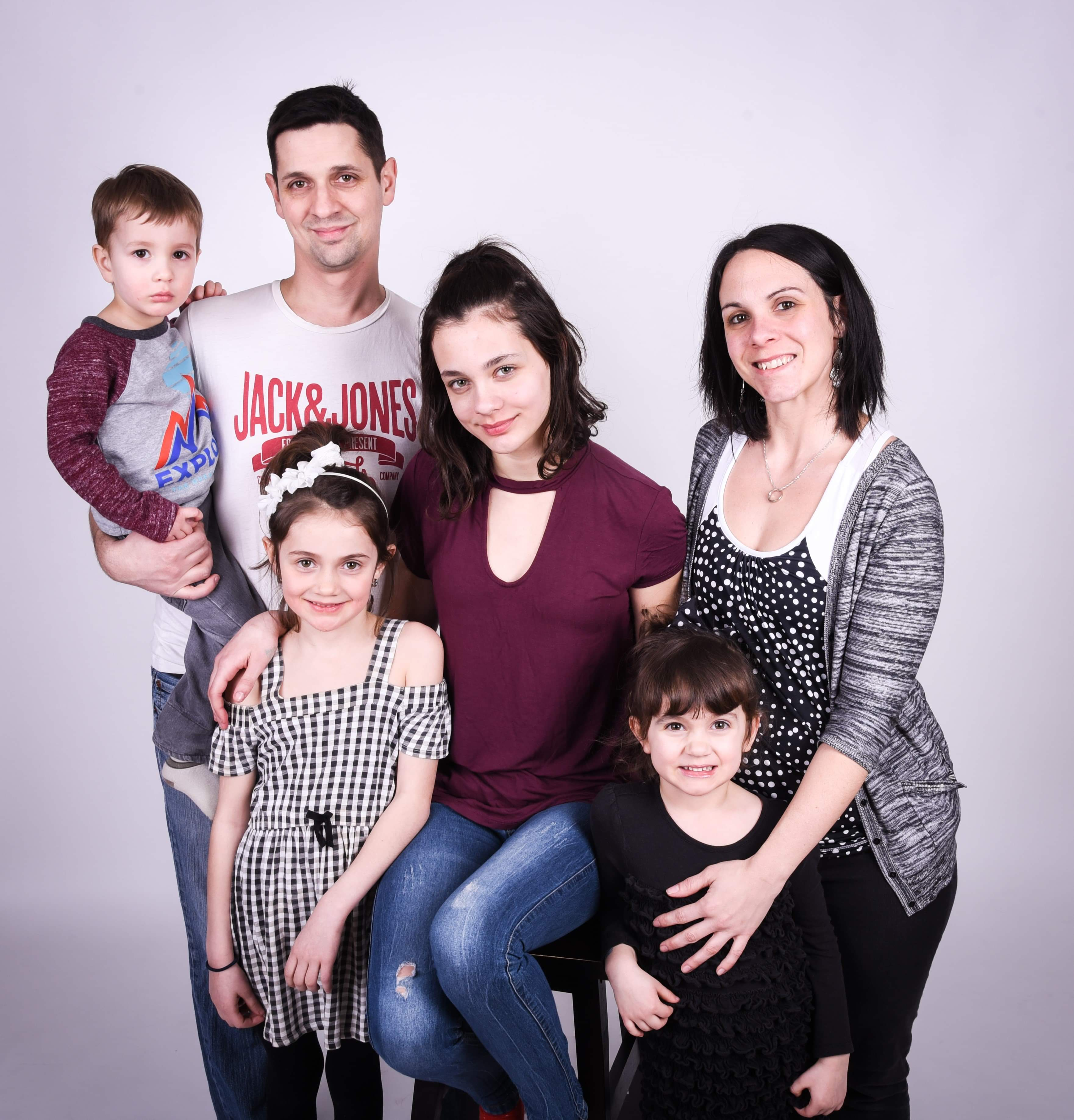 Famille Bouchard-Brisebois