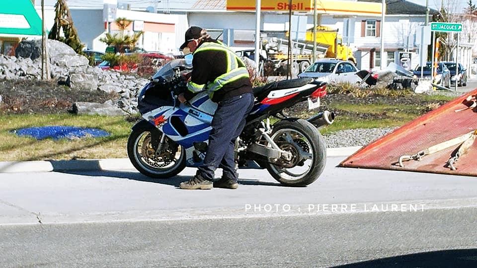 Accident moto Saint-Jacques