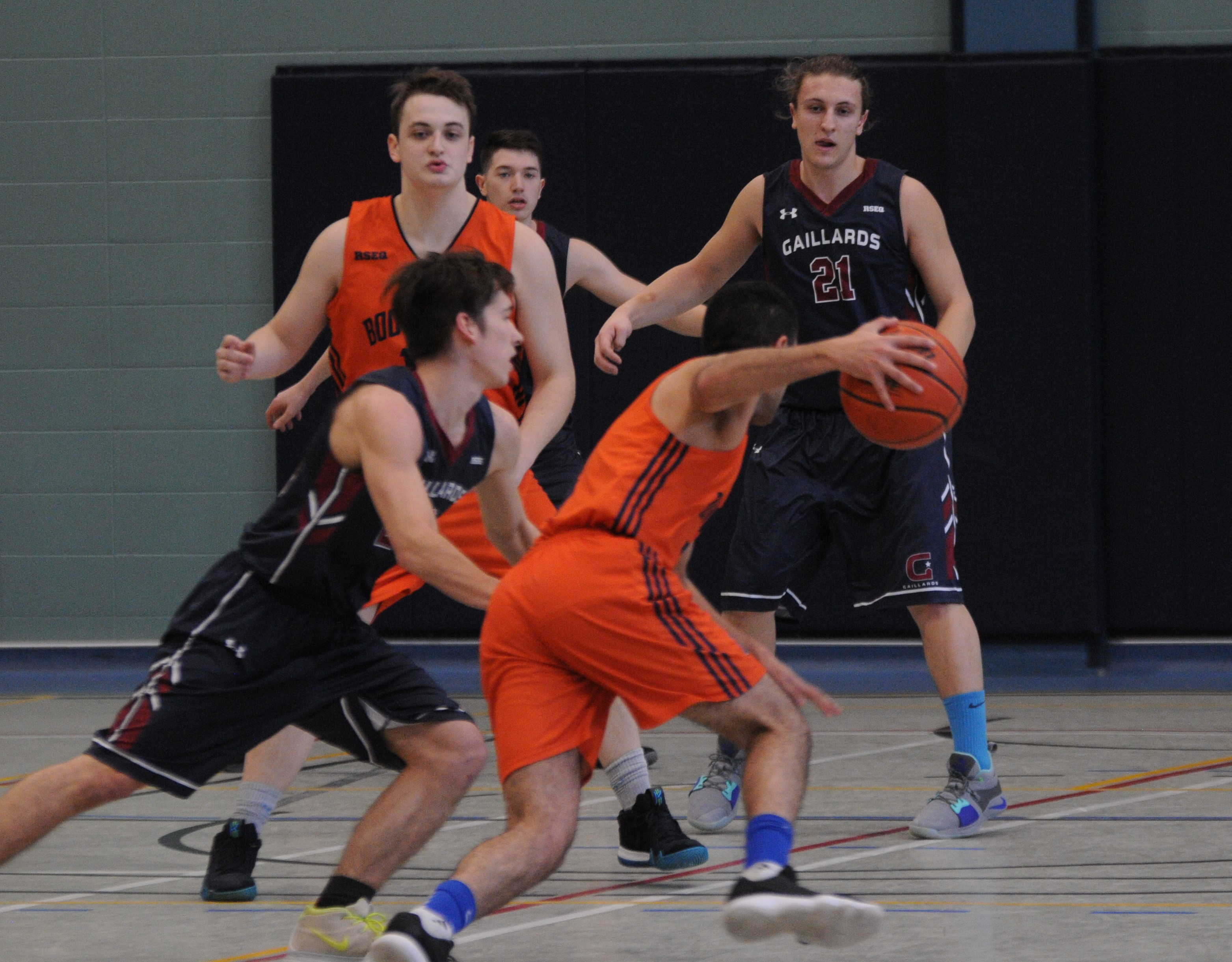 Gaillards basketball