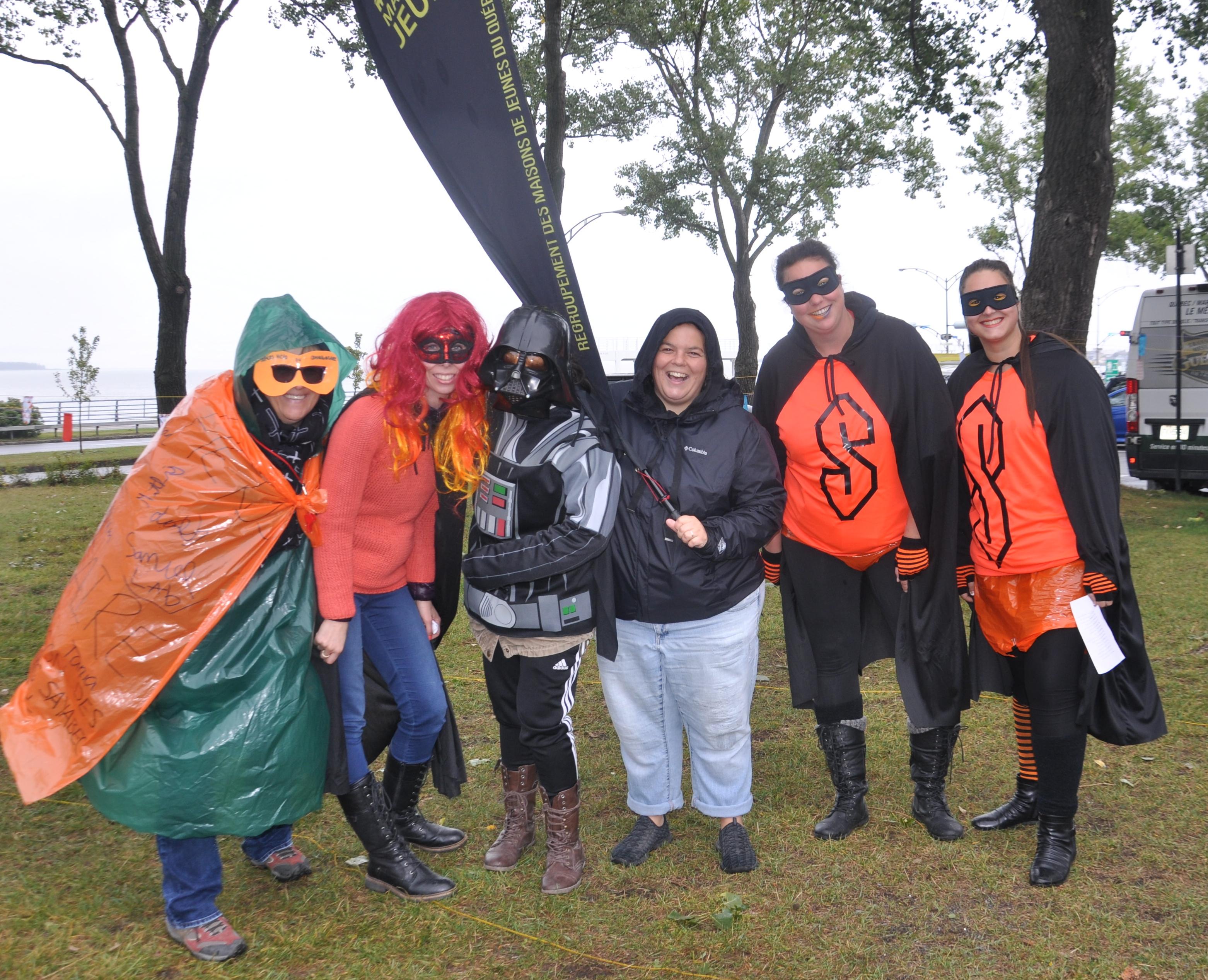 flash mob communautaire à Rimouski