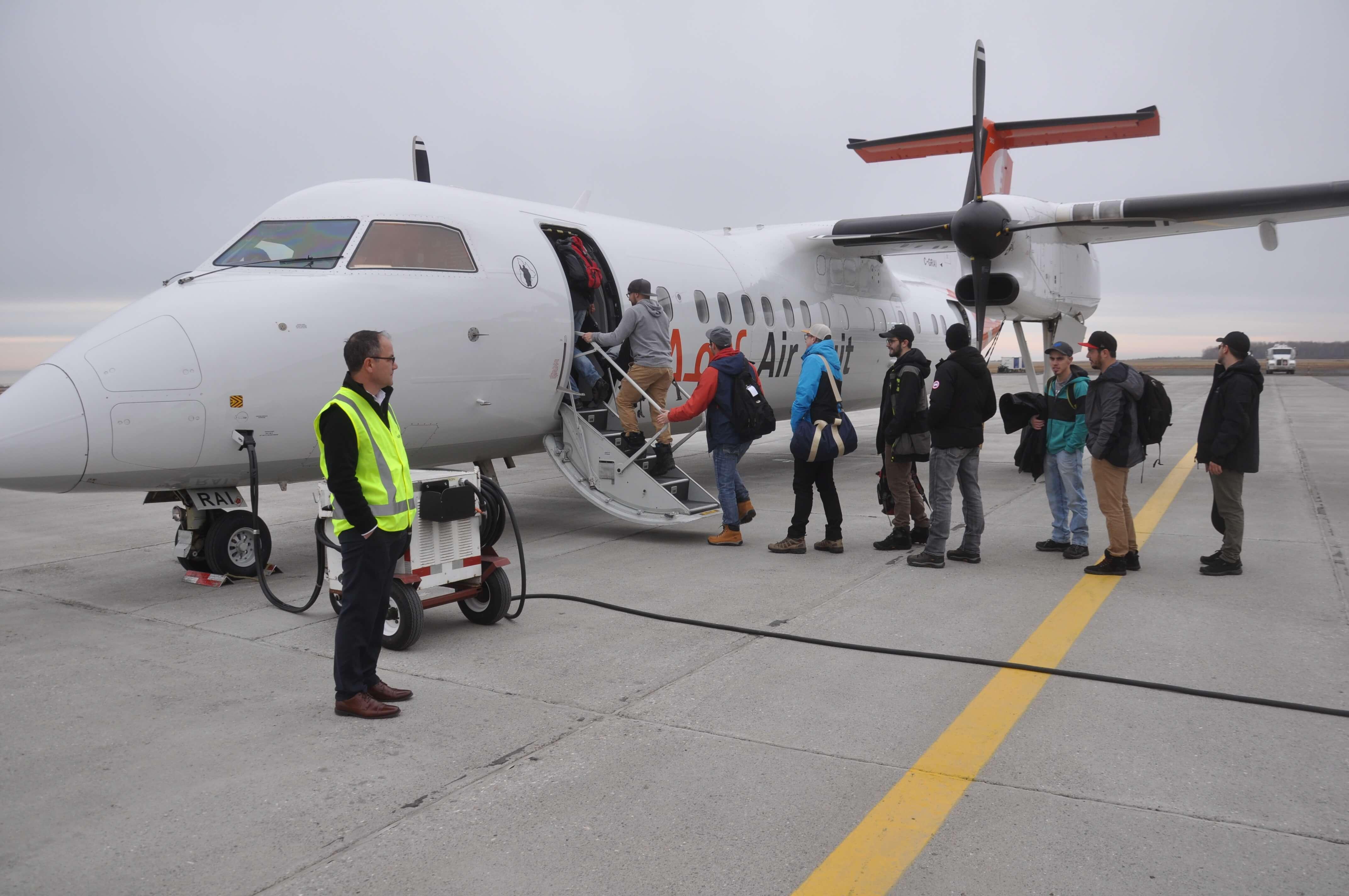 Avion travailleurs