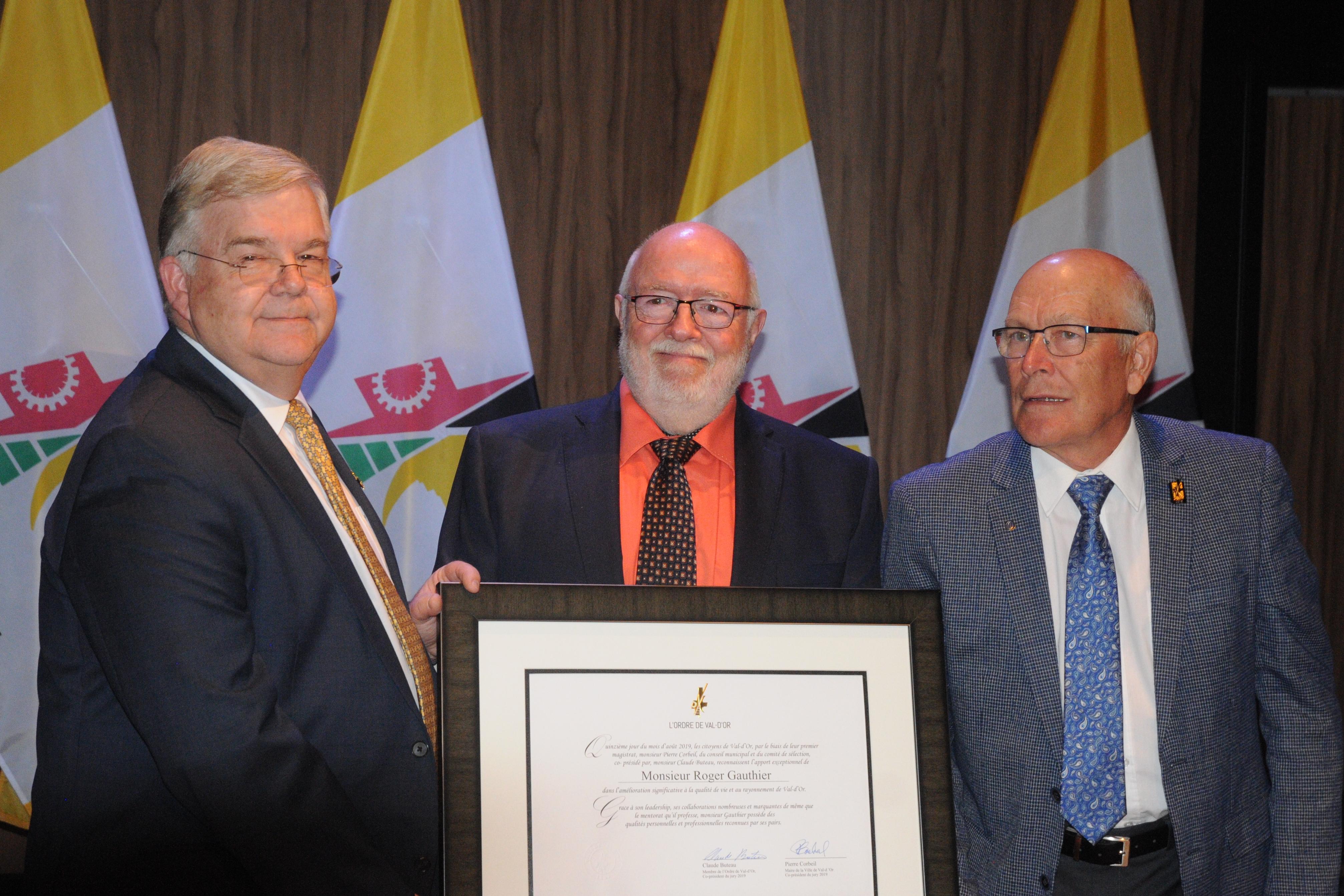 Ordre de Val-d'Or - Roger Gauthier