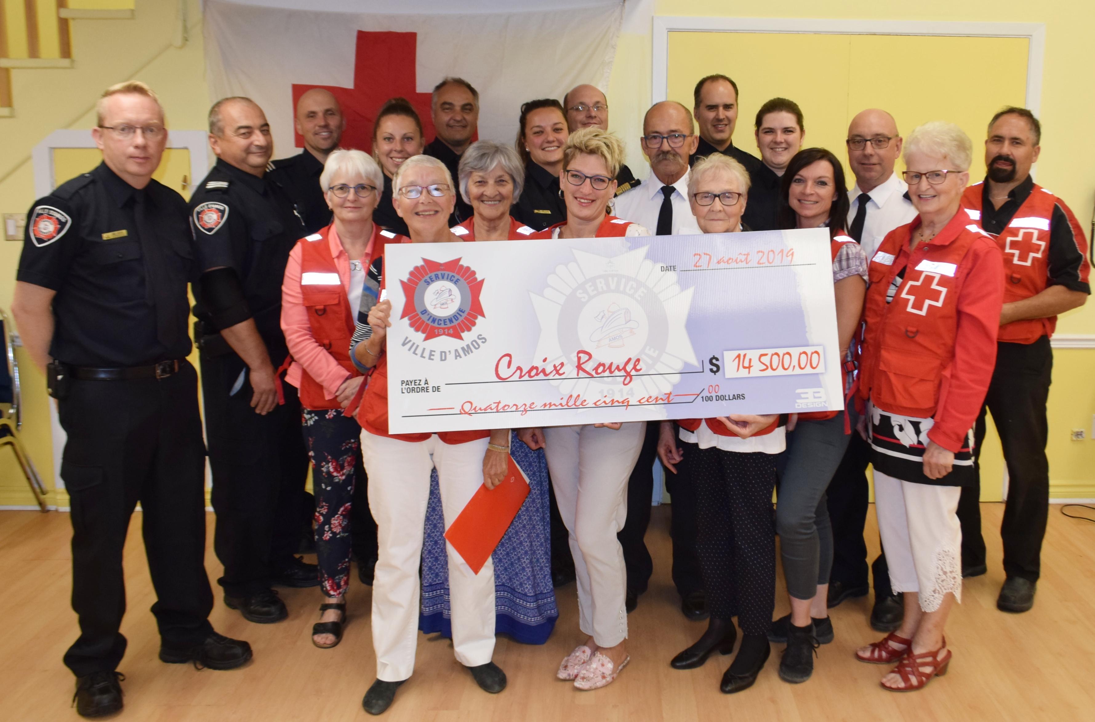 Pompiers Amos Croix-Rouge