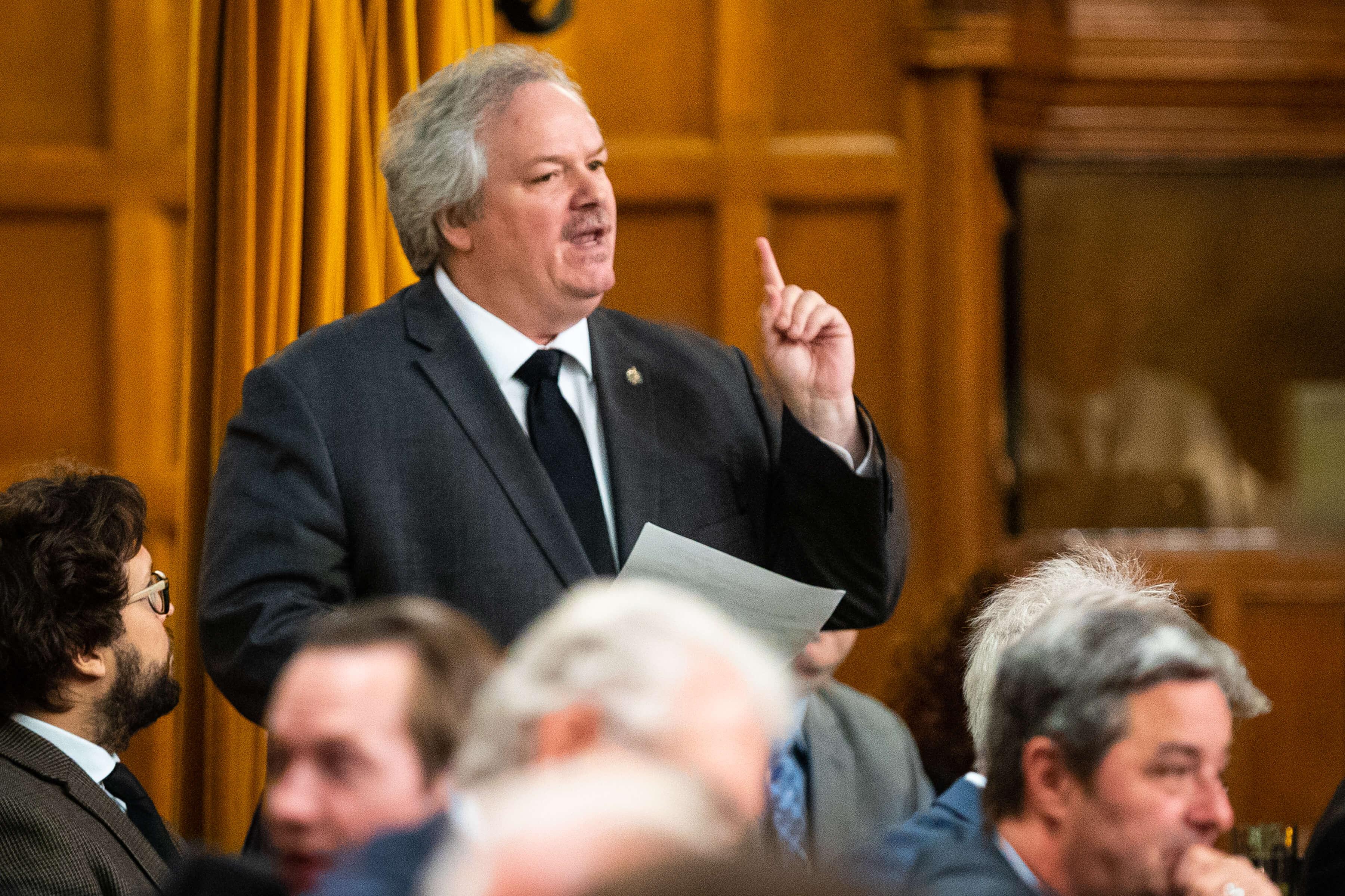 Bilan parlementaire Luc Thériault