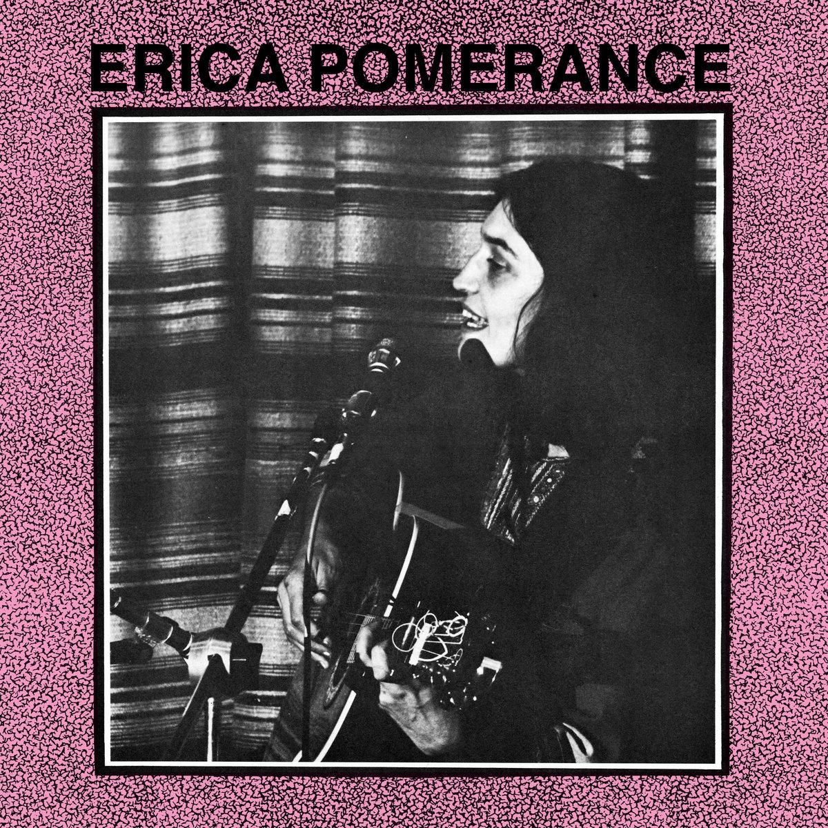 Album « En concert au Petit Québec Libre (1972) » de l'artiste Erica Pomerance.