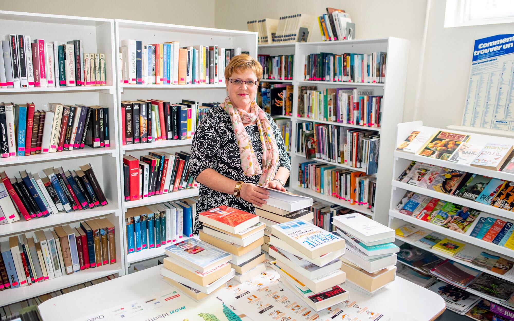 Bibliothèque Sainte-Paule Carmen Côté