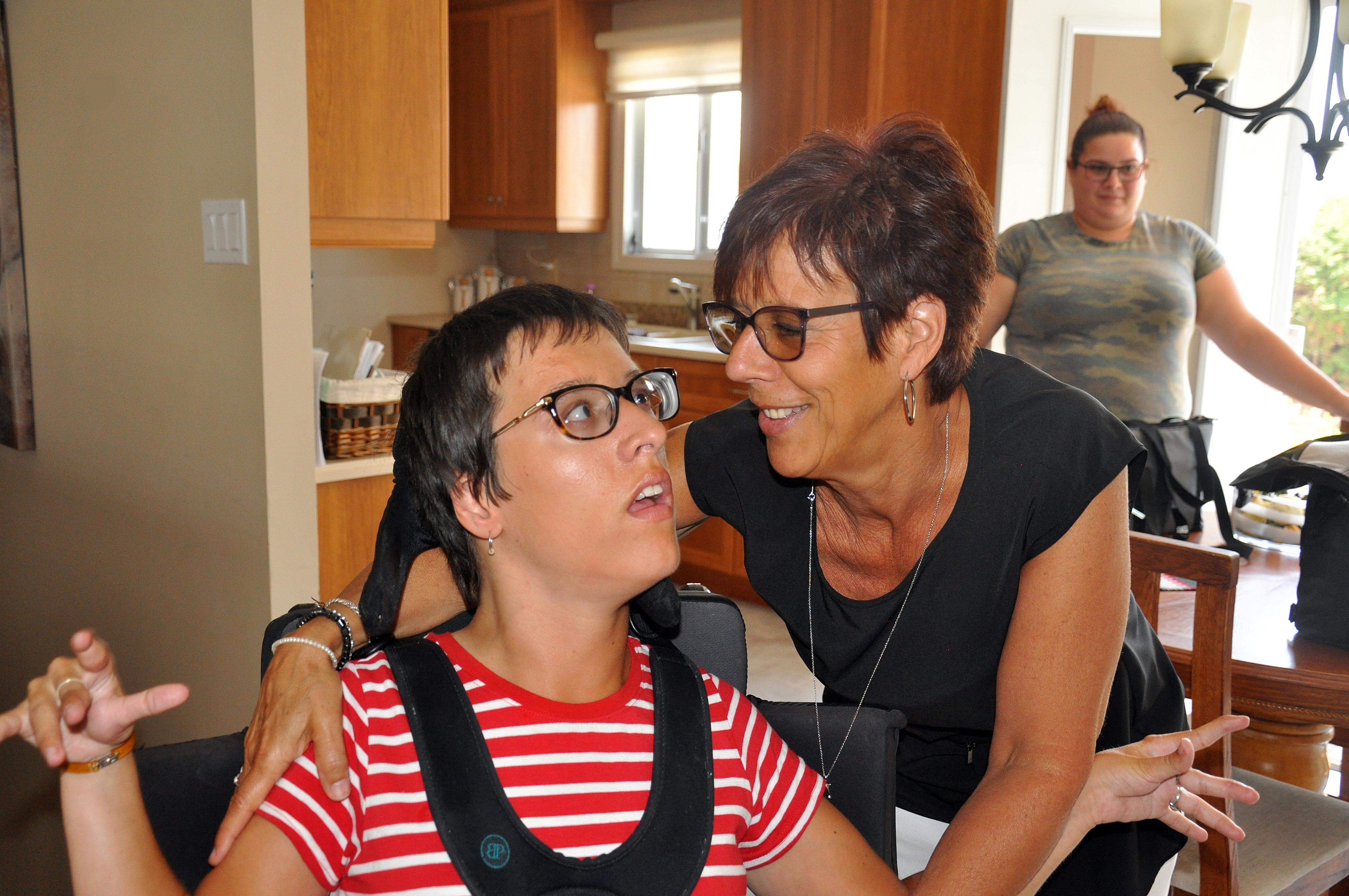 Caroline Roy et sa mère, Judith Fillion