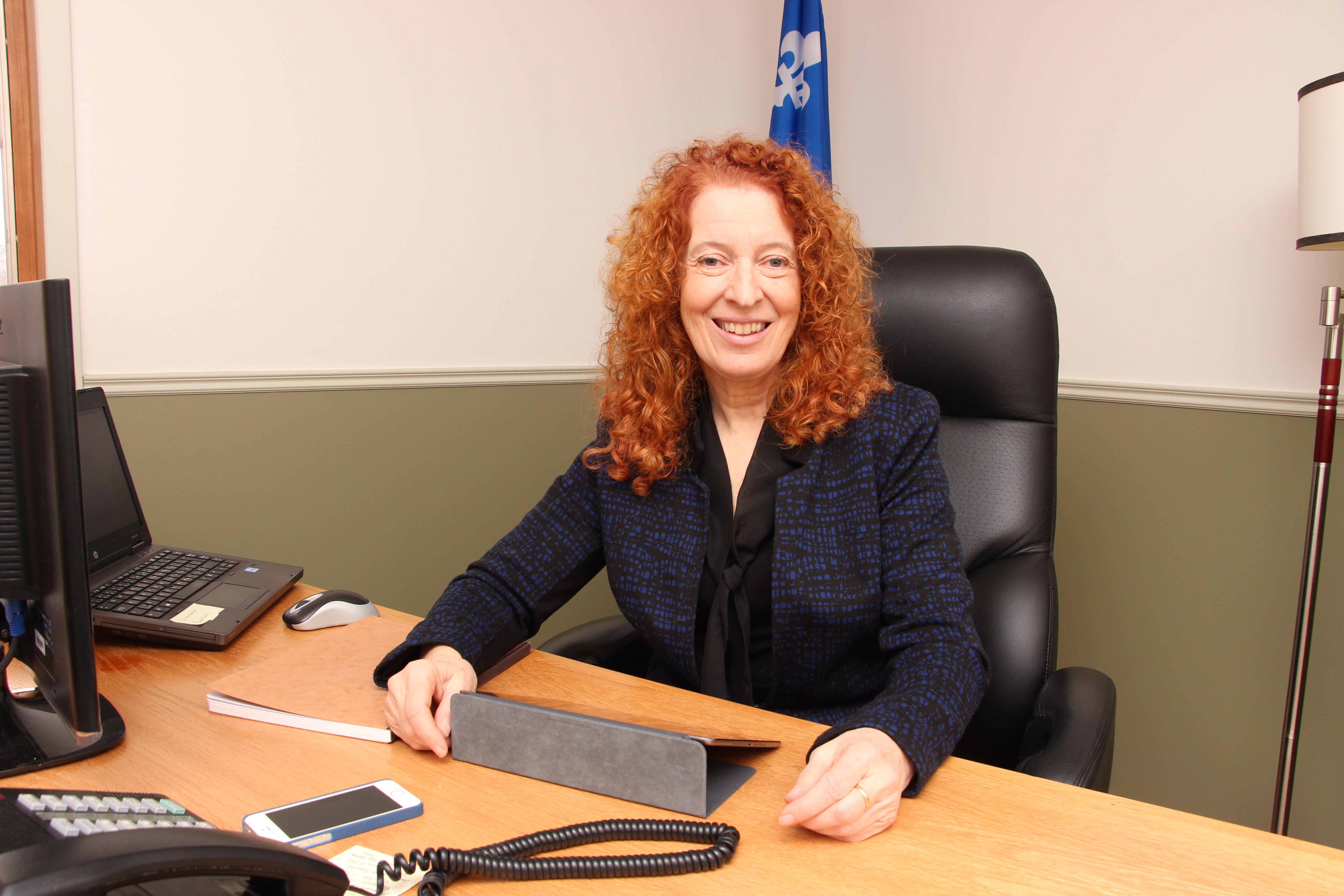 La députée du Bloc québécois