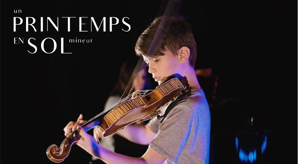 En sol mineur violon musique concert