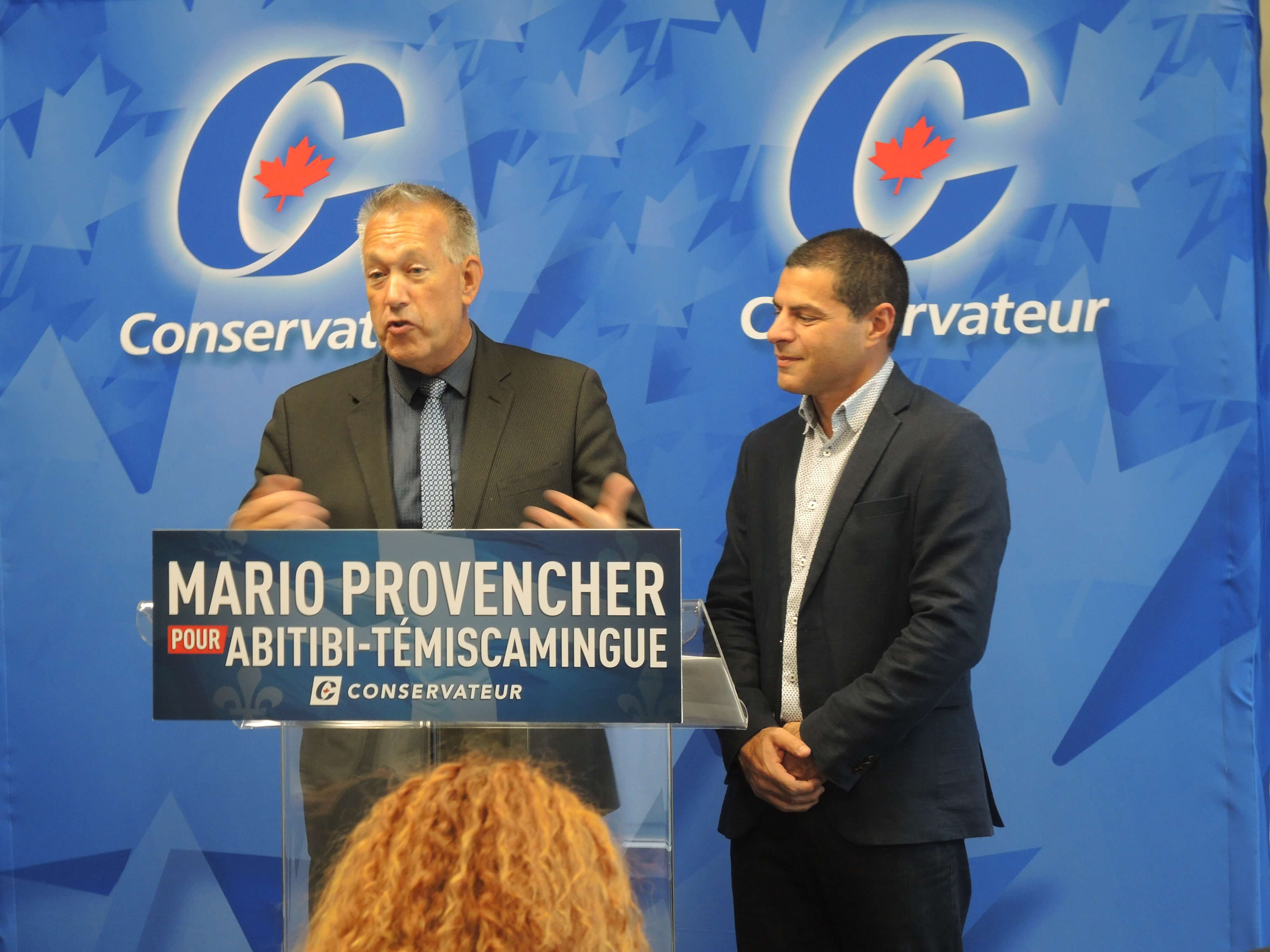 Mario Provencher candidat conservateur