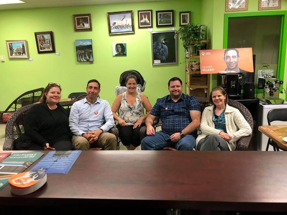 Québec solidaire double ses appuis dans la MRC