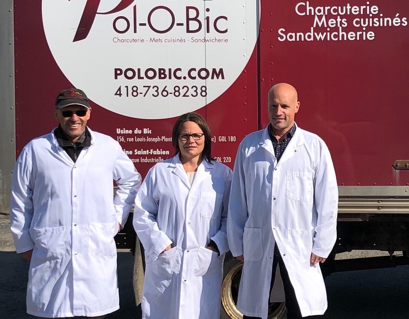 La famille Rioux est propriétaire de l'entreprise Pol-O-Bic.