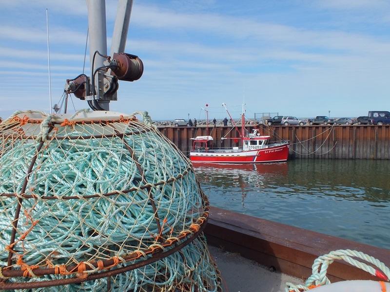 Pour des raisons de sécurité, la Société portuaire du Bas-Saint-Laurent et de la Gaspésie a installé une guérite au quai des pêcheurs commerciaux de Rimouski-Est.