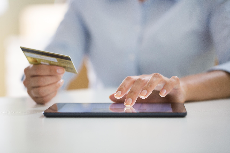 carte de crédit tablette i pad