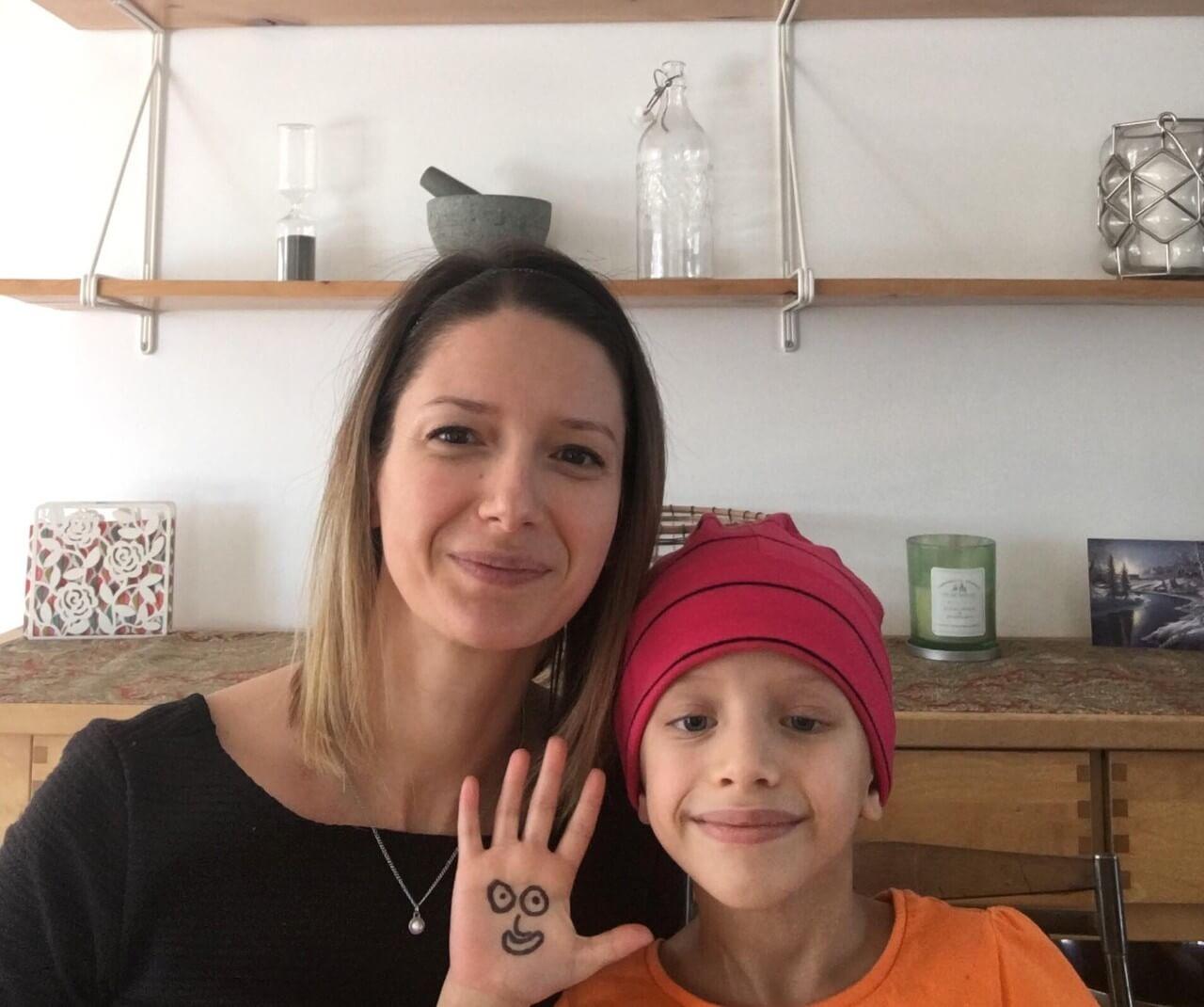 Le combat d'une fillette de six ans contre le cancer