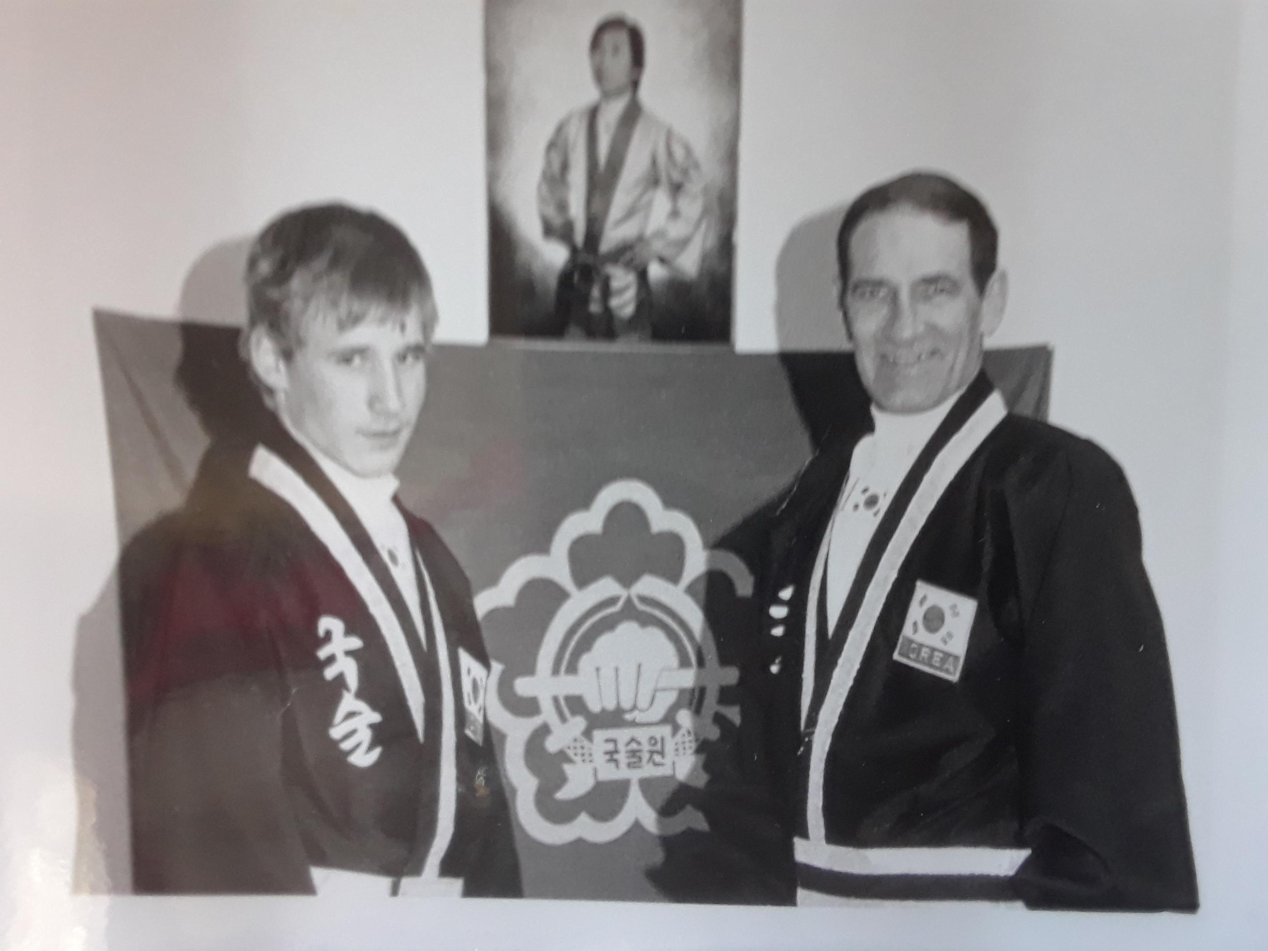 Normand et Christian Laroque 1992 kuk sool won