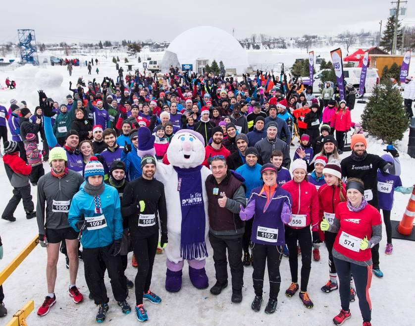 population fête d'hiver Rouyn-Noranda