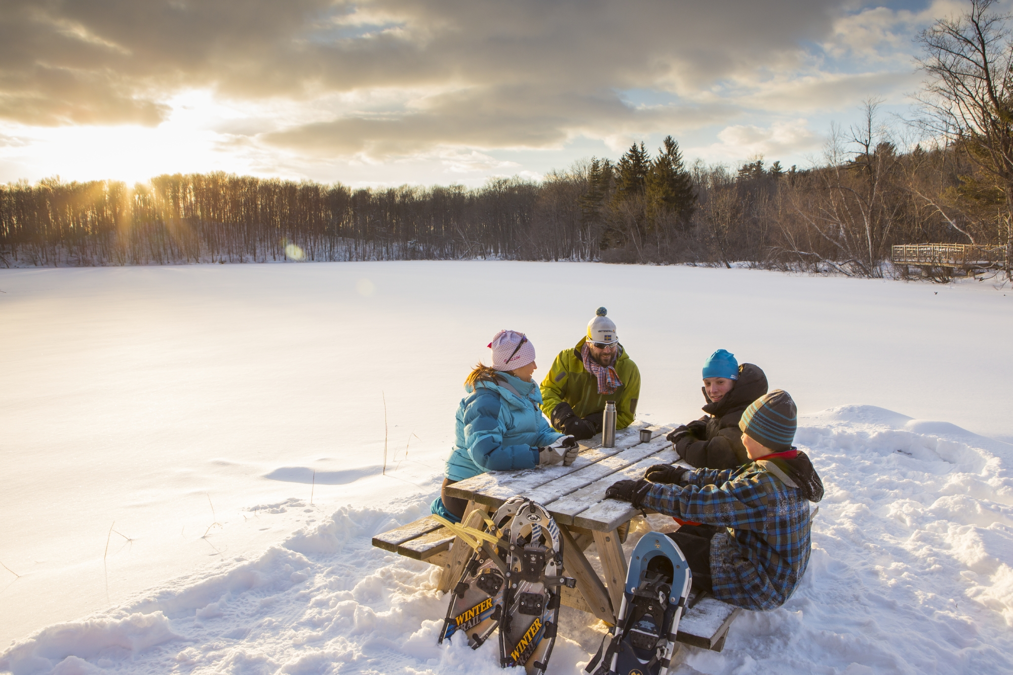 La 4e présentation de la Journée d'hiver Sépaq le samedi 25 janvier.