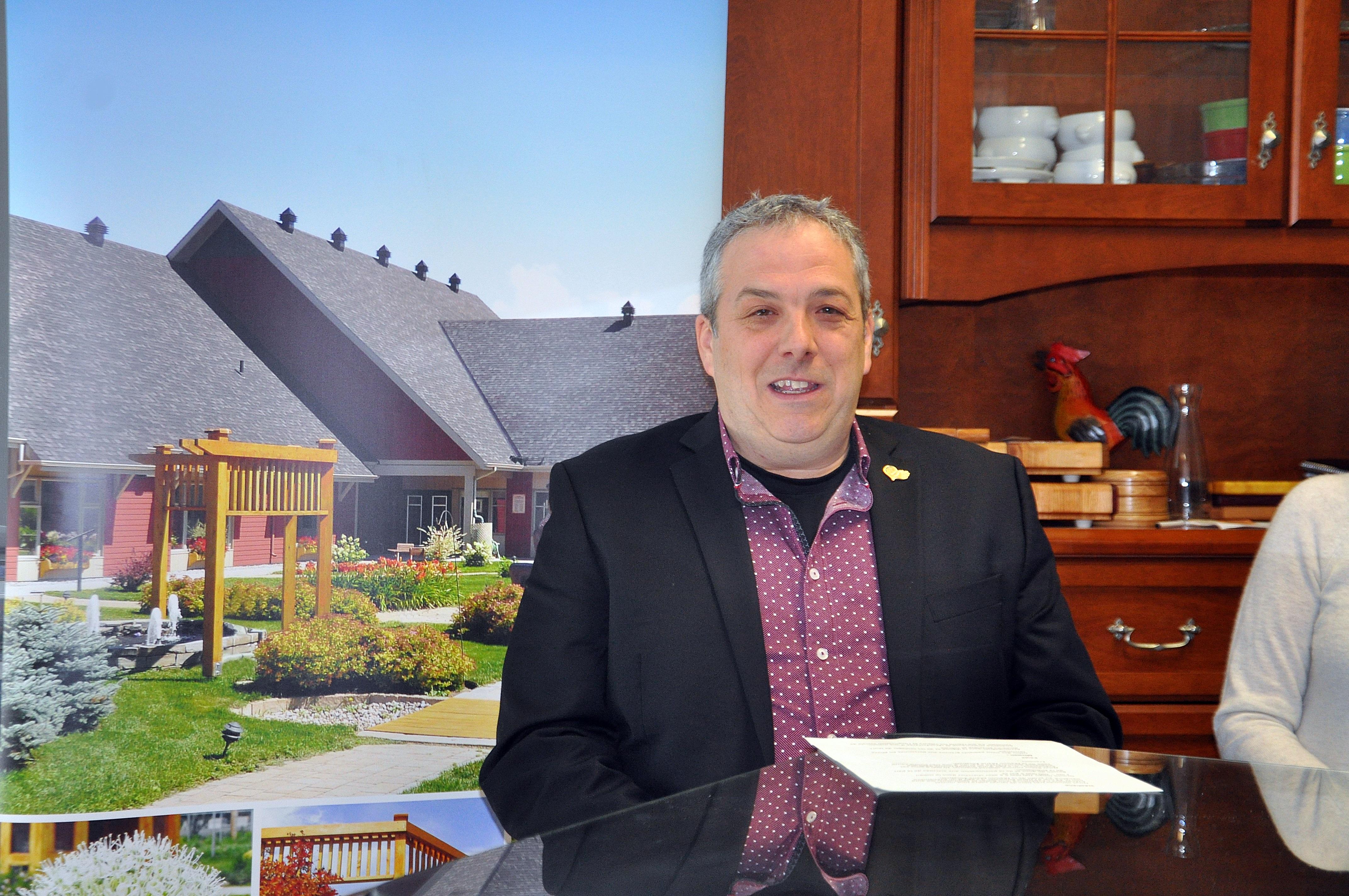 Stéphane Gauthier, président du conseil d'administration de la Maison Marie-Élisabeth