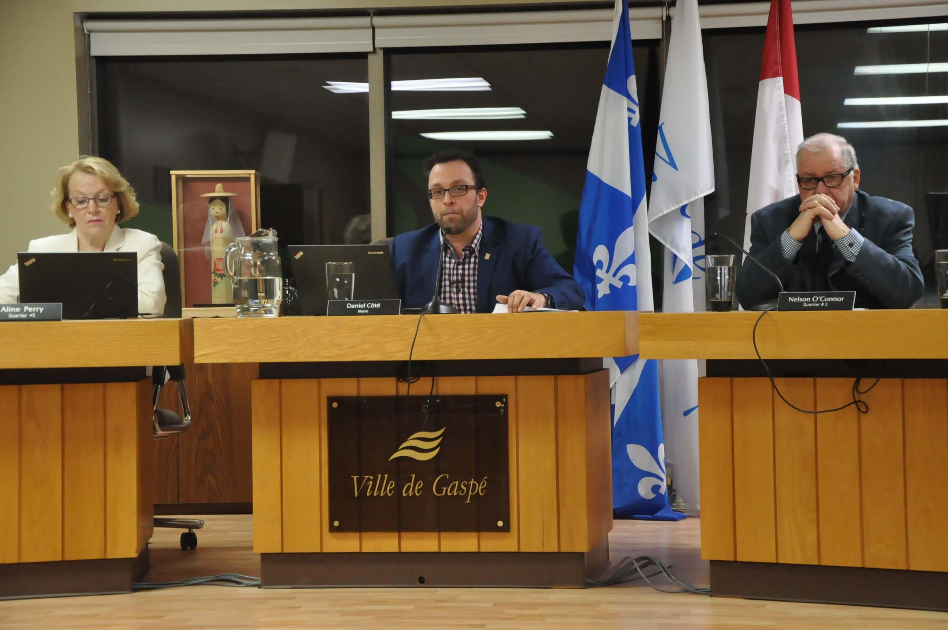 Conseil municipal Gaspé