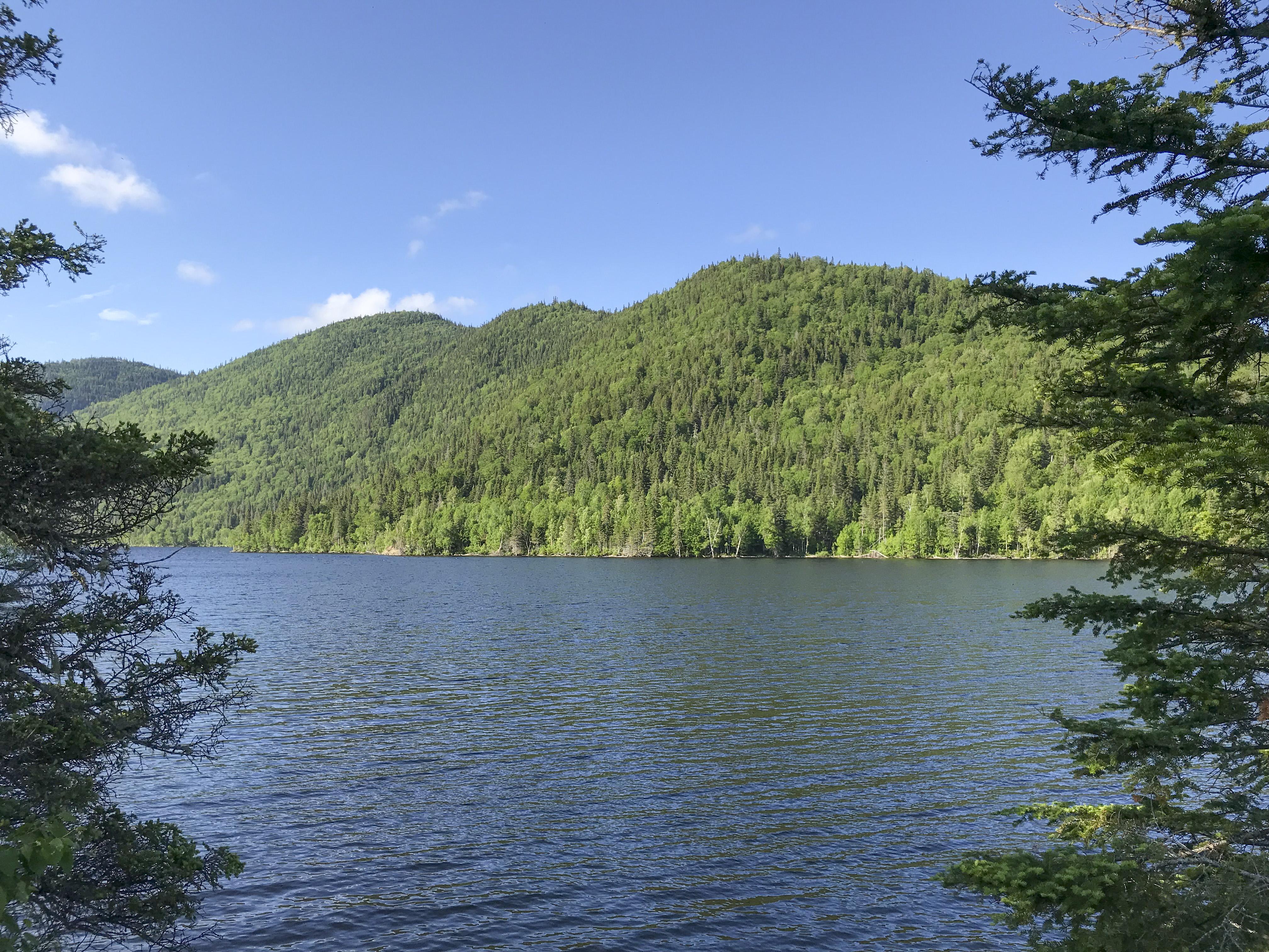 Lac Matane réserve faunique de Matane