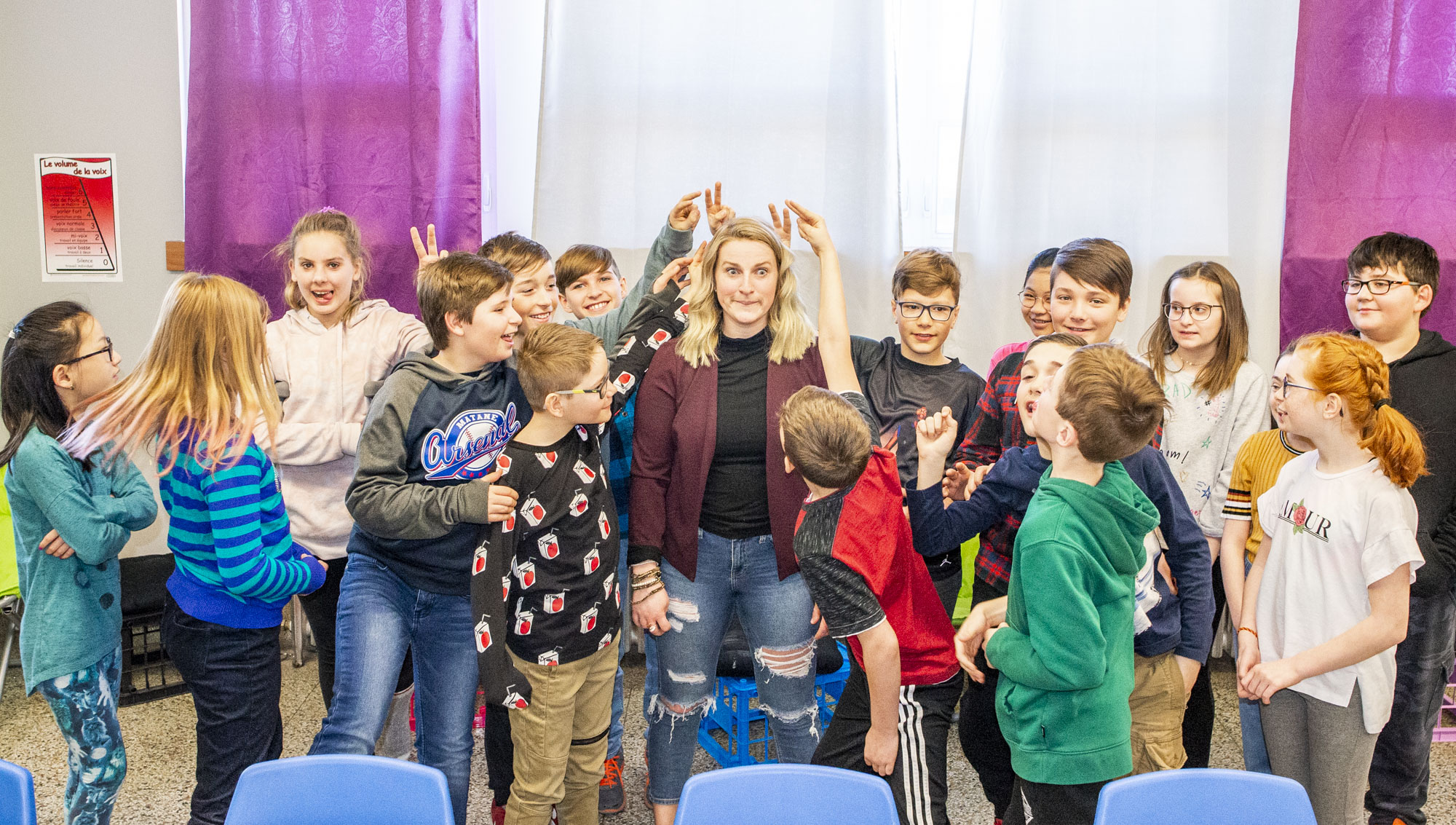 École Zénon-Soucy Marie-Line Pitre formation humour