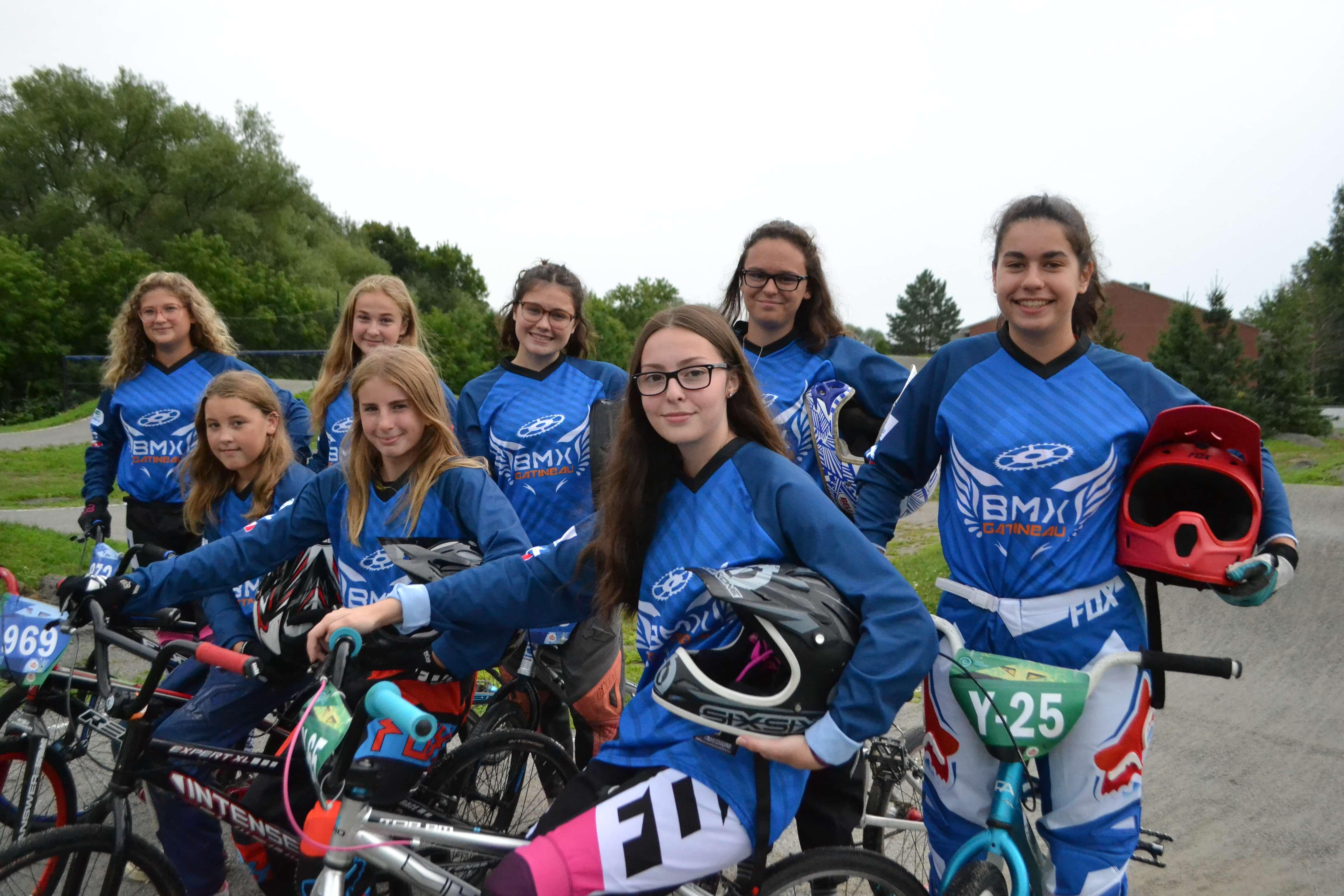BMX Gatineau filles