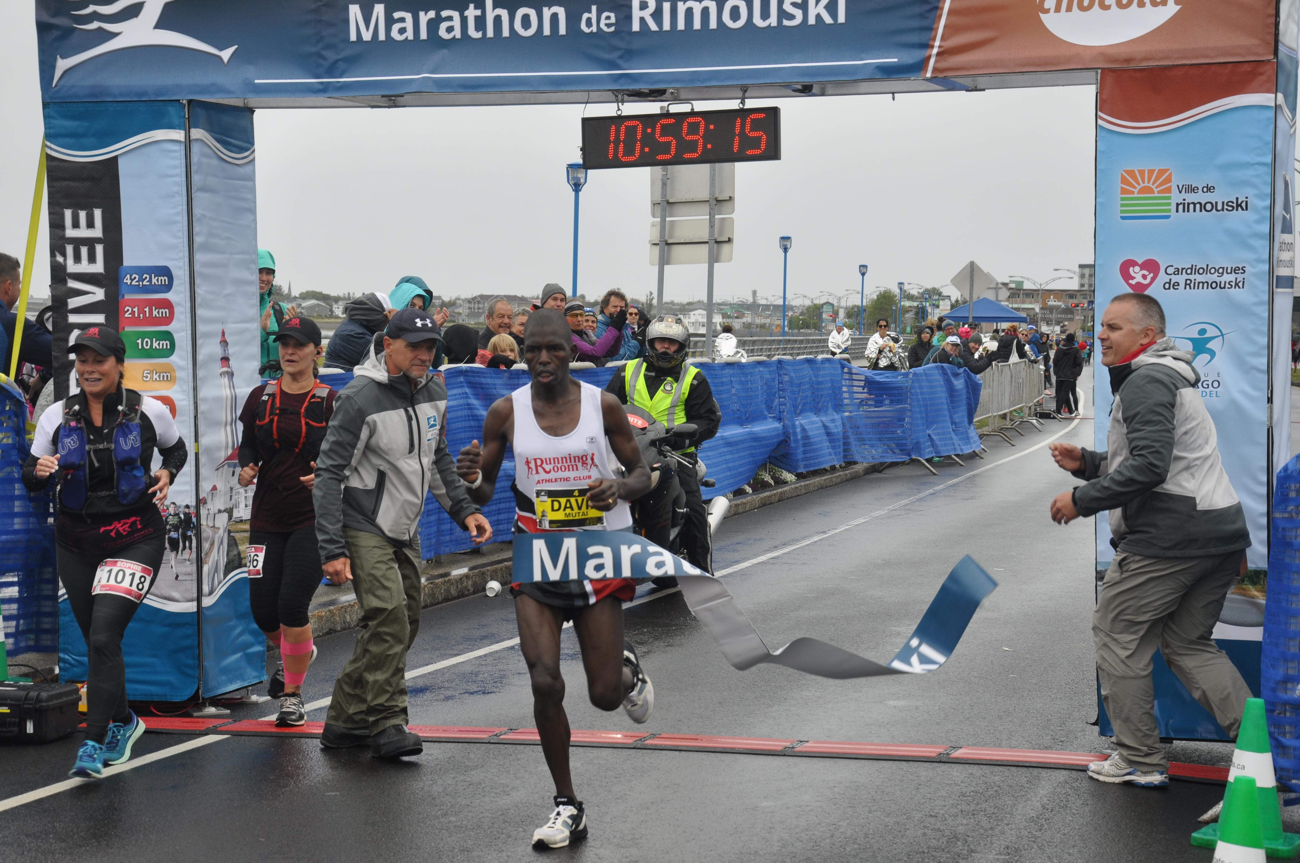 Gagnant marathon 2019