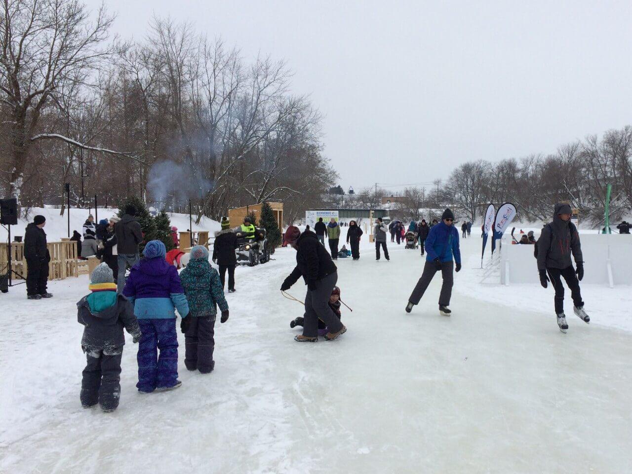 Quelque 40 000 visiteurs au Festi-glace!