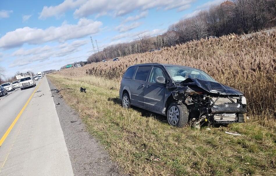 collision autoroute 40