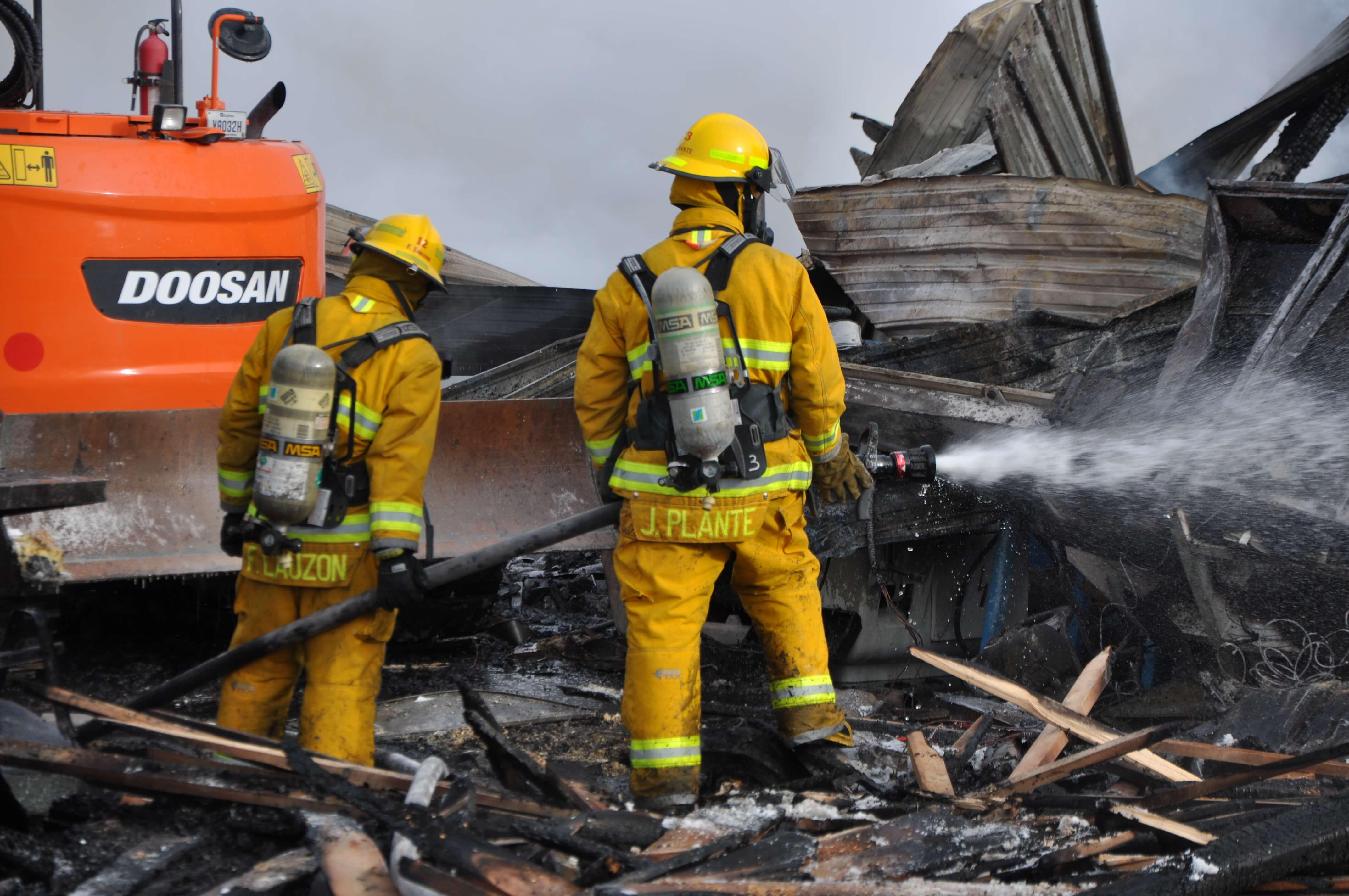 Pompiers La Sarre Abitibi-Ouest