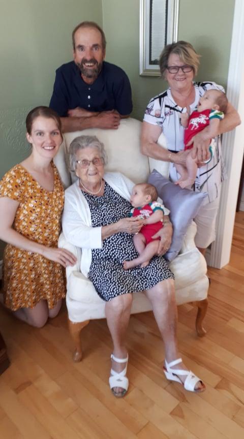 Rose-Anne Gingras - Famille