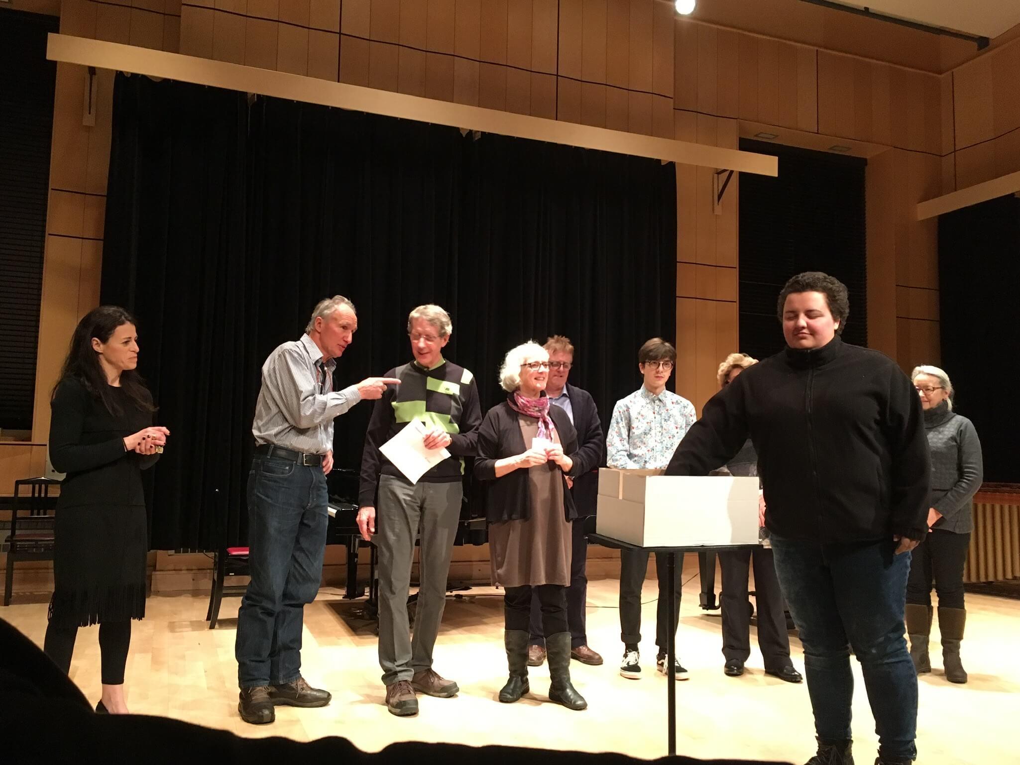 Loterie Amis et anciens du Conservatoire de musique de Rimouski