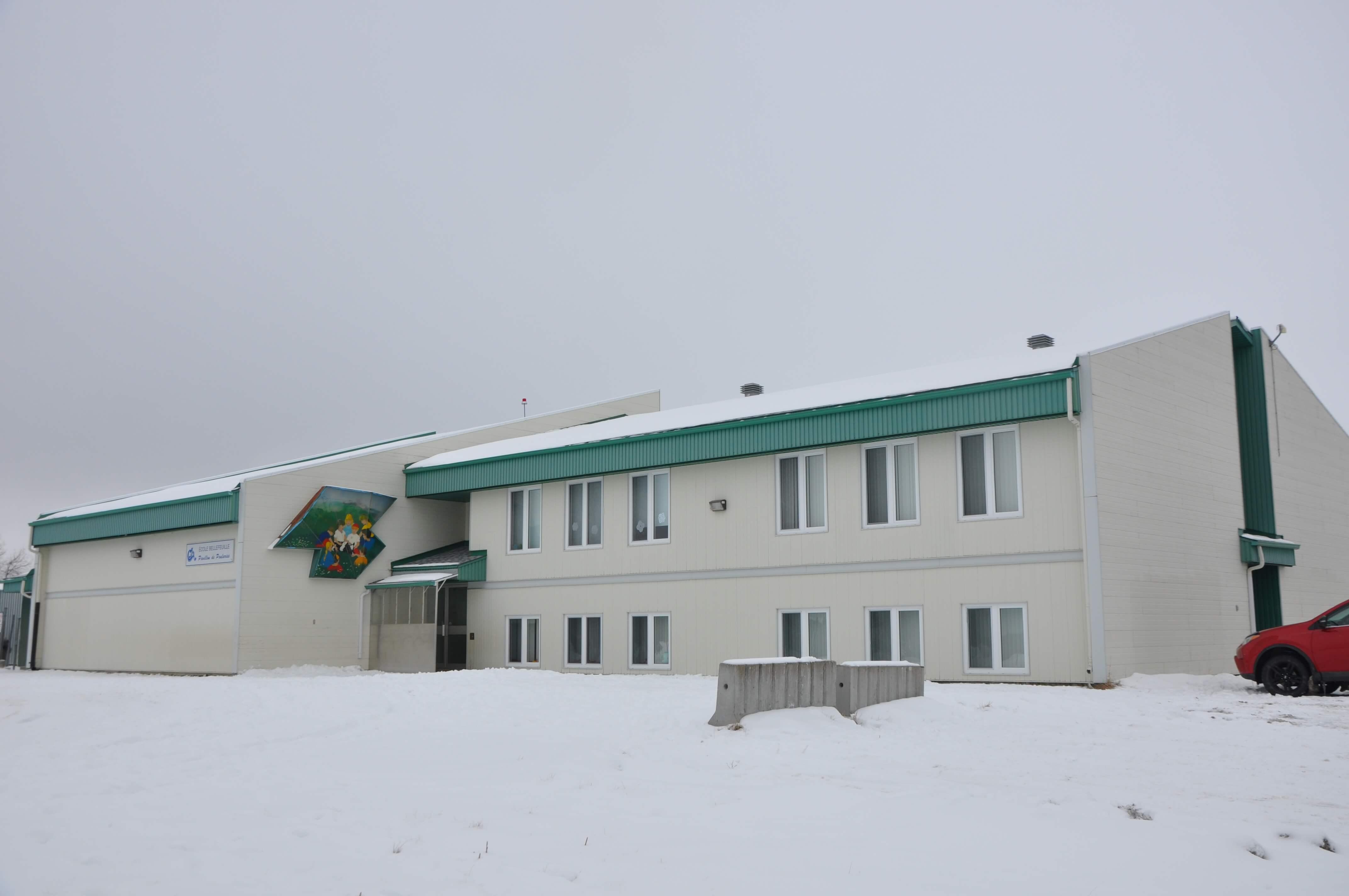 École Poularies hiver