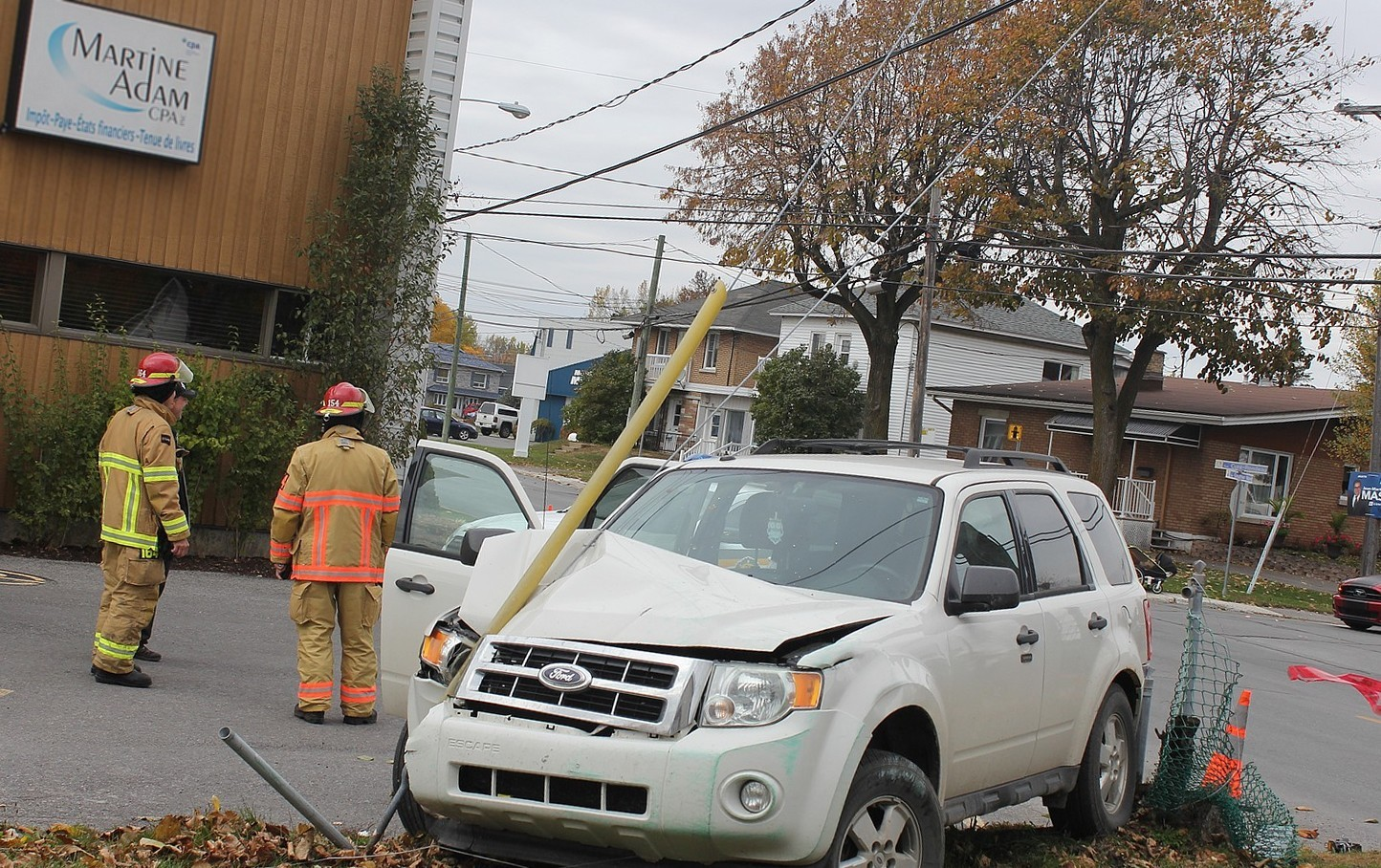 Accident rue Gauthier
