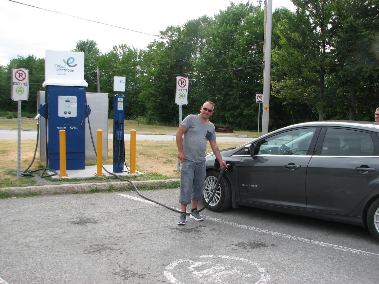 Bornes véhicules électriques