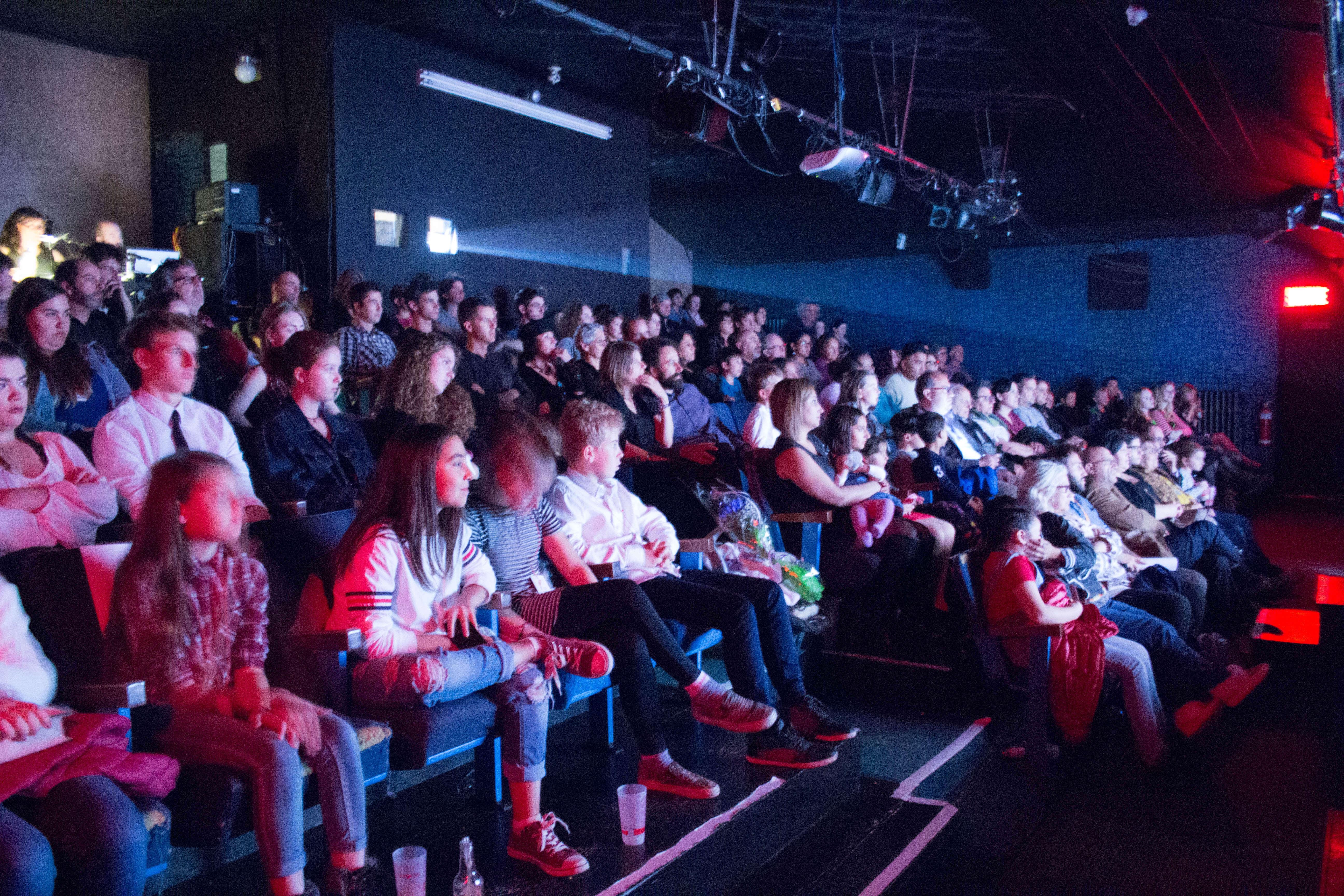 Salle comble premiere Carrousel international du film de Rimouski