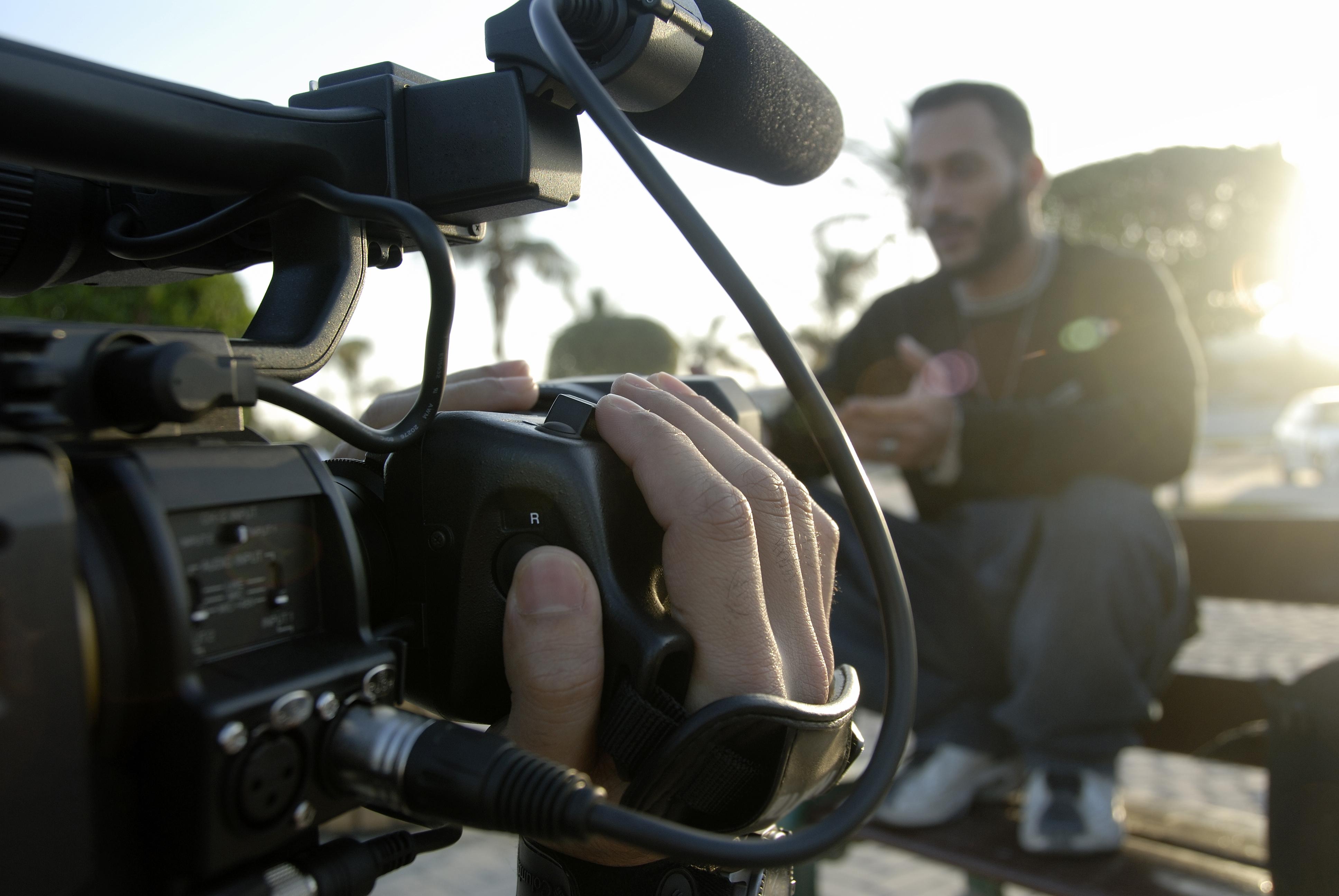 Film, tournage, caméra, scénario.